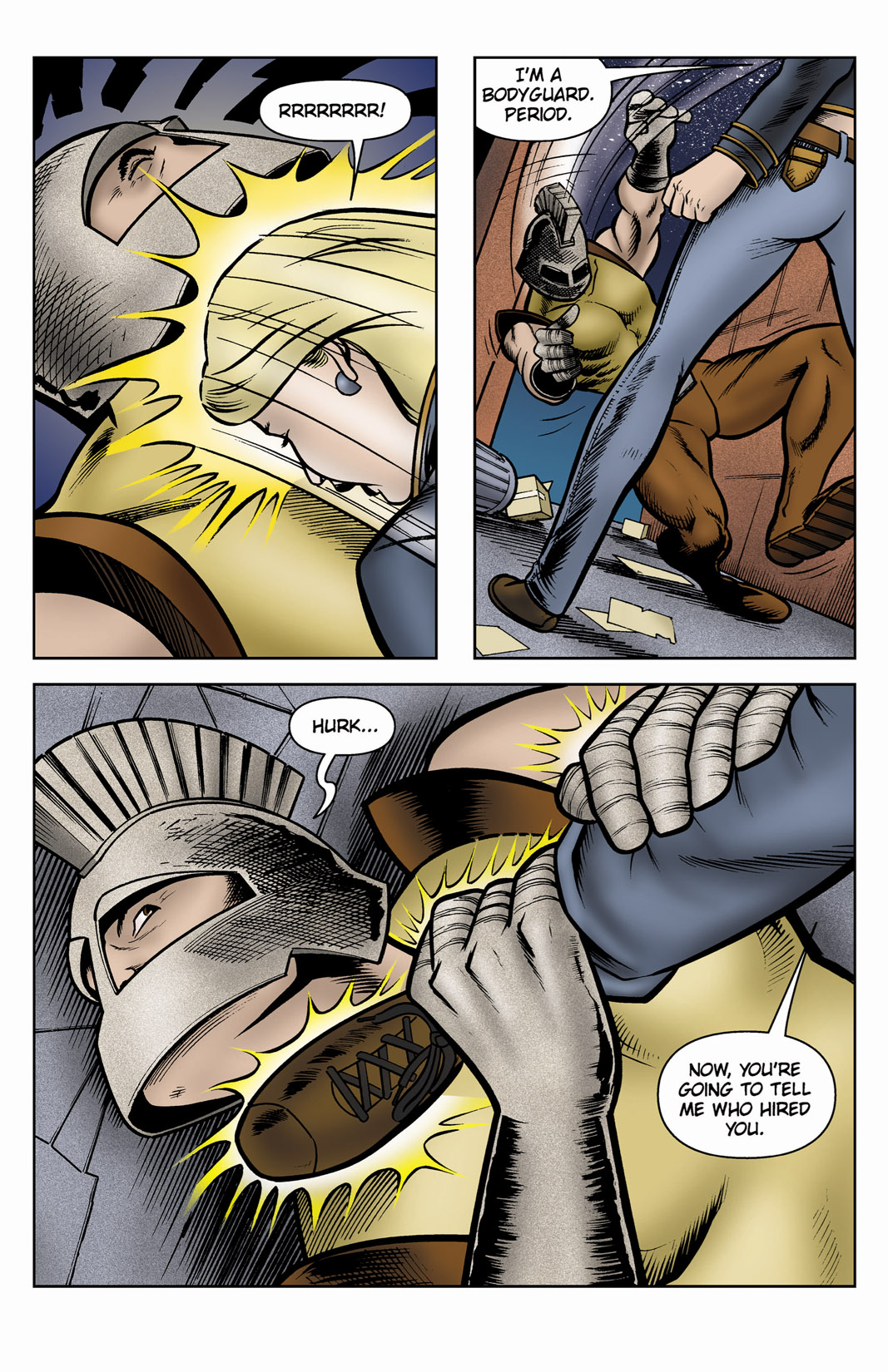 Read online SideChicks comic -  Issue #3 - 11