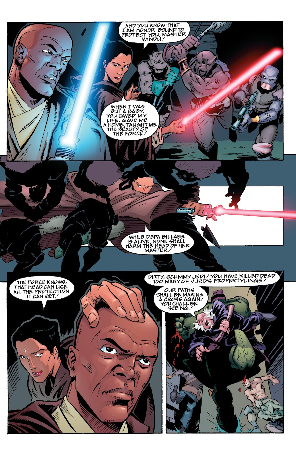 Read online Star Wars Legends Epic Collection: The Menace Revealed comic -  Issue # TPB (Part 4) - 48