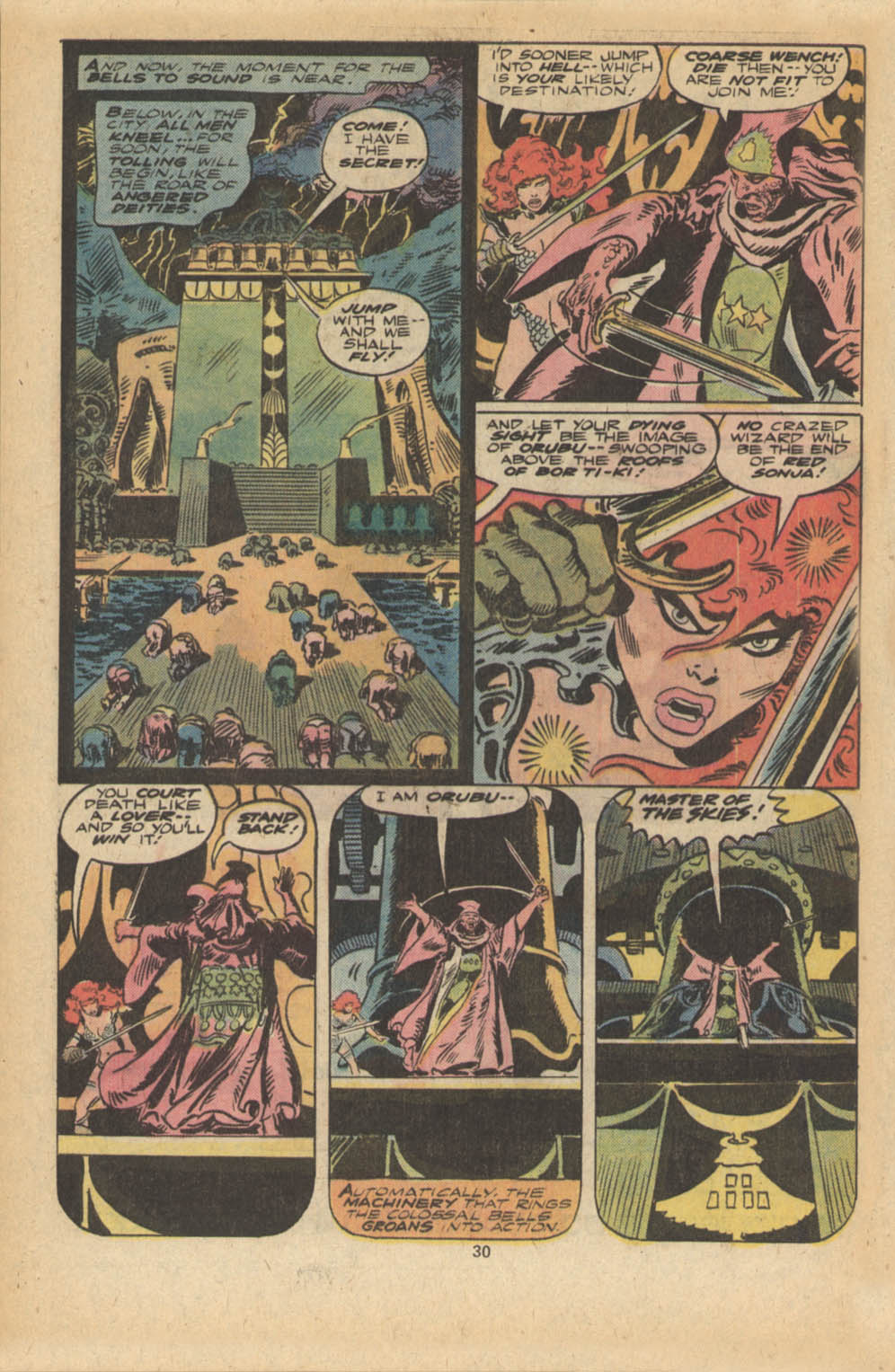 Red Sonja (1977) issue 5 - Page 17