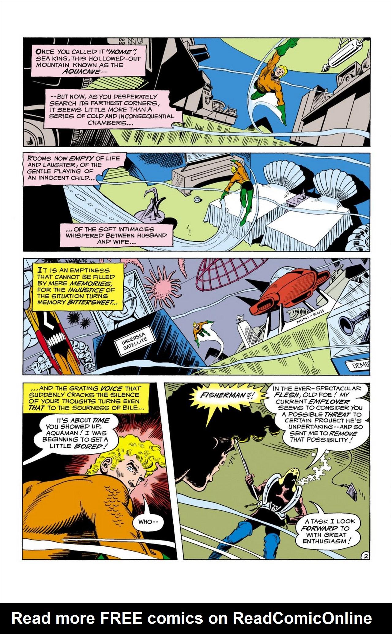 Read online Aquaman (1962) comic -  Issue #58 - 3