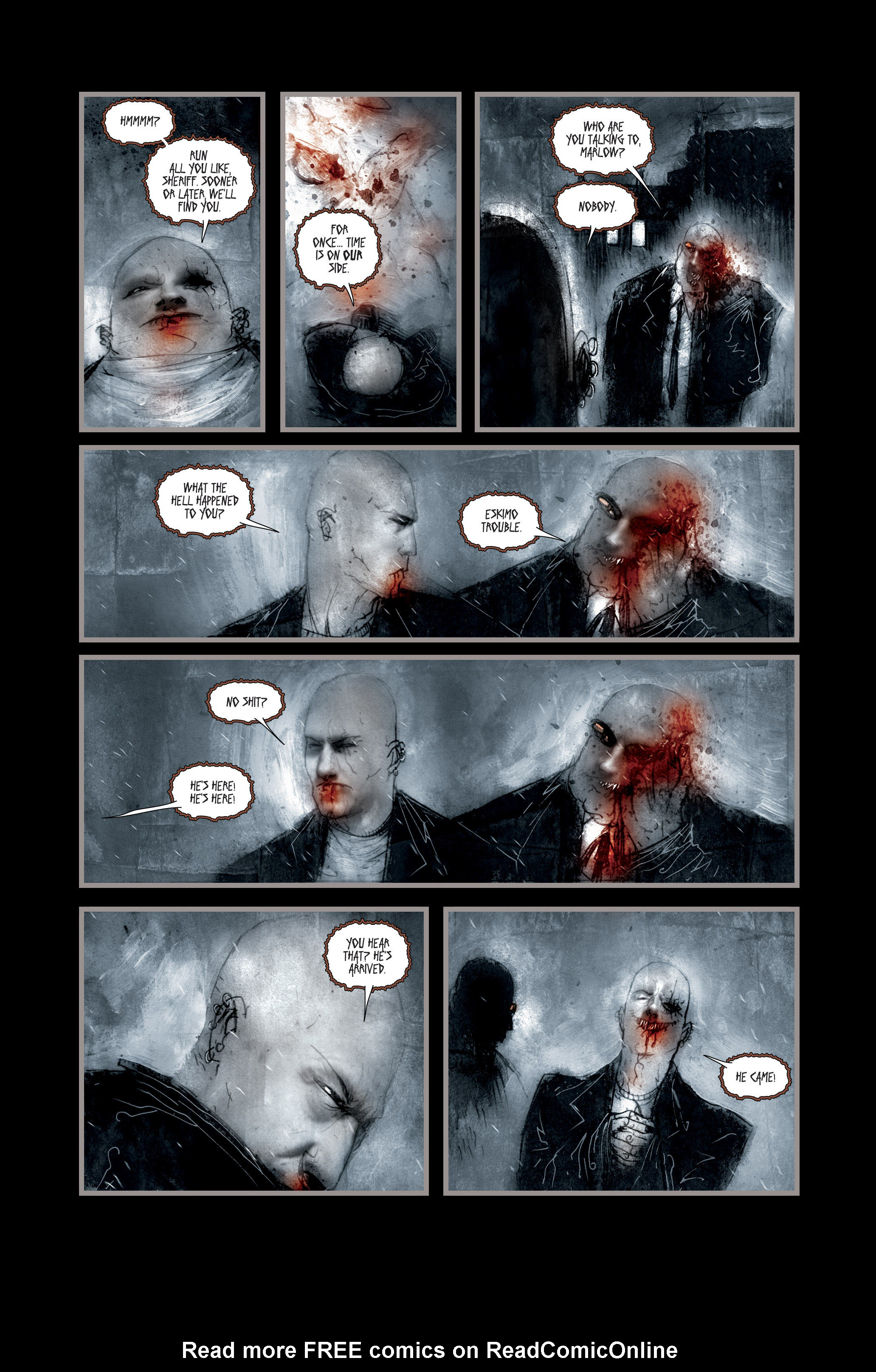 Read online 30 Days of Night (2002) comic -  Issue #2 - 16