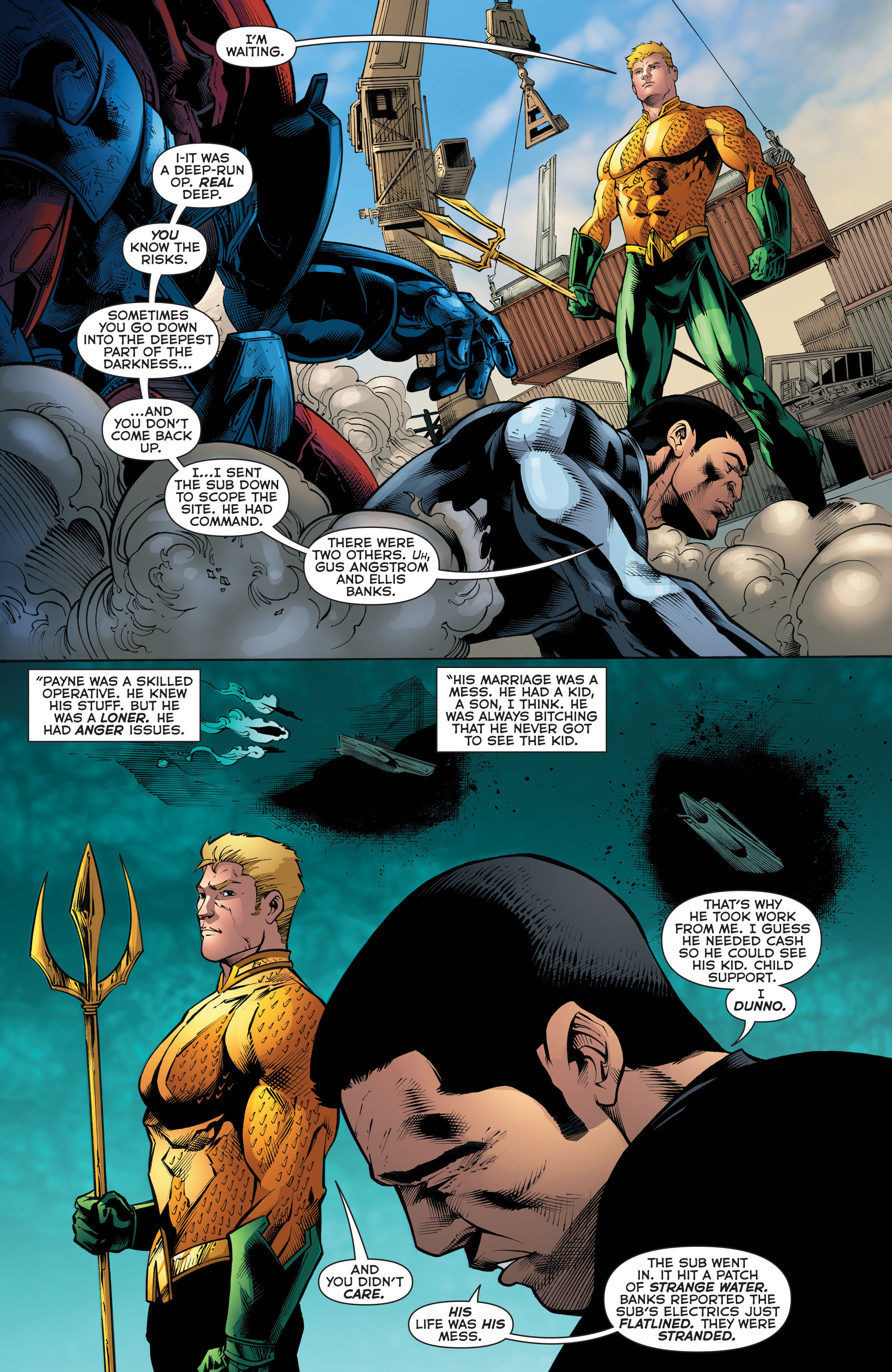 Read online Aquaman (2011) comic -  Issue #52 - 14