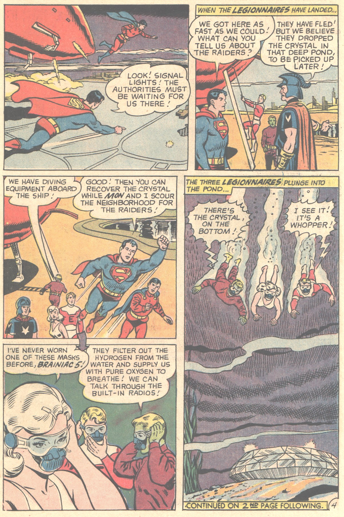 Read online Adventure Comics (1938) comic -  Issue #356 - 6