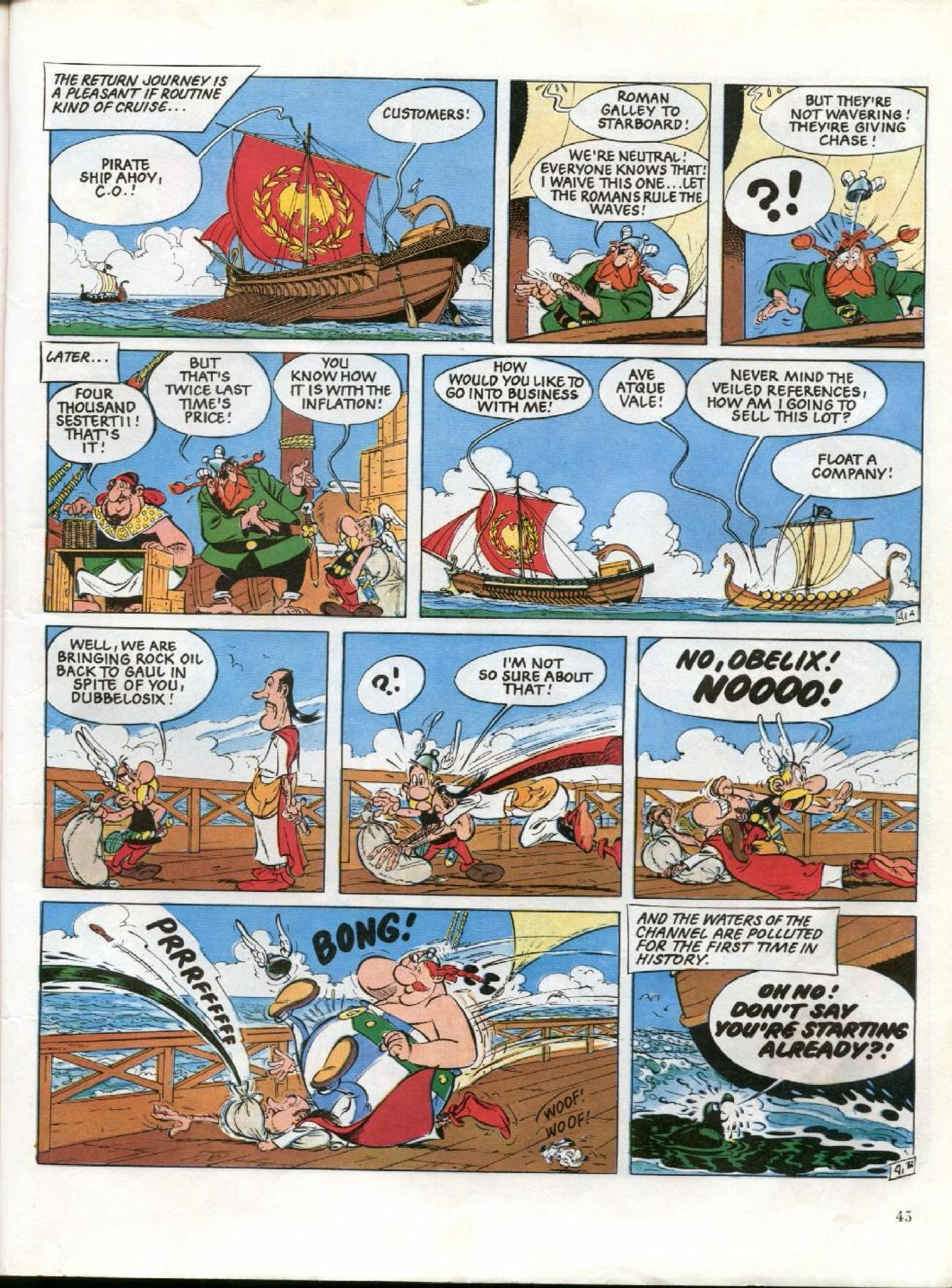 Read online Asterix comic -  Issue #26 - 42