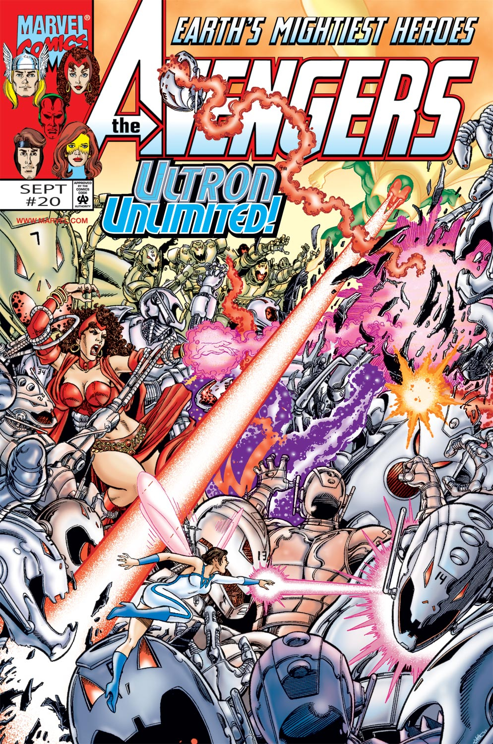 Read online Avengers (1998) comic -  Issue #20 - 1