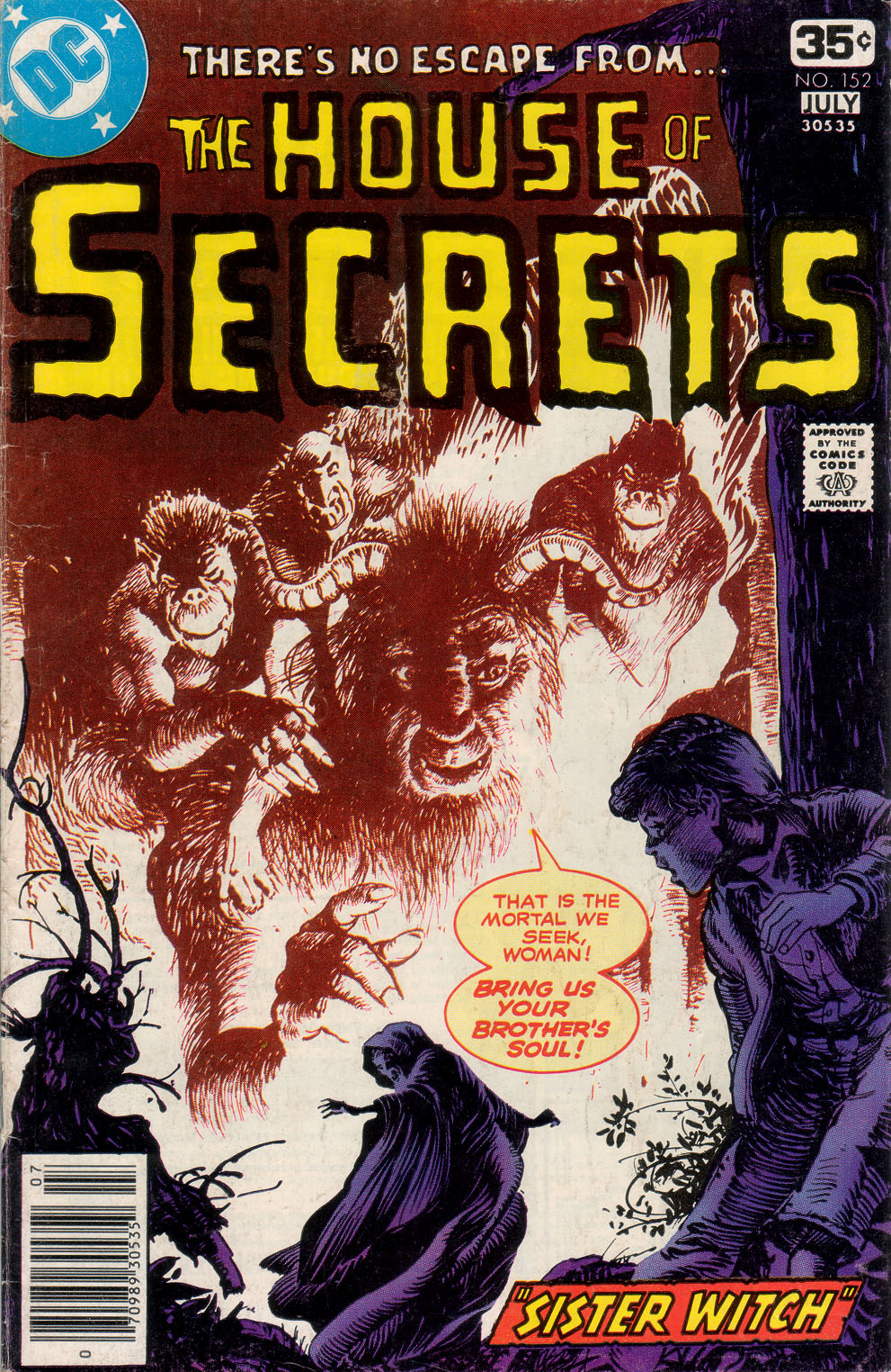House of Secrets (1956) issue 152 - Page 1