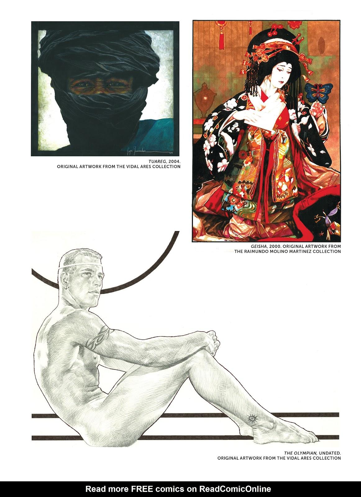 Read online The Art of Jose Gonzalez comic -  Issue # TPB (Part 3) - 40