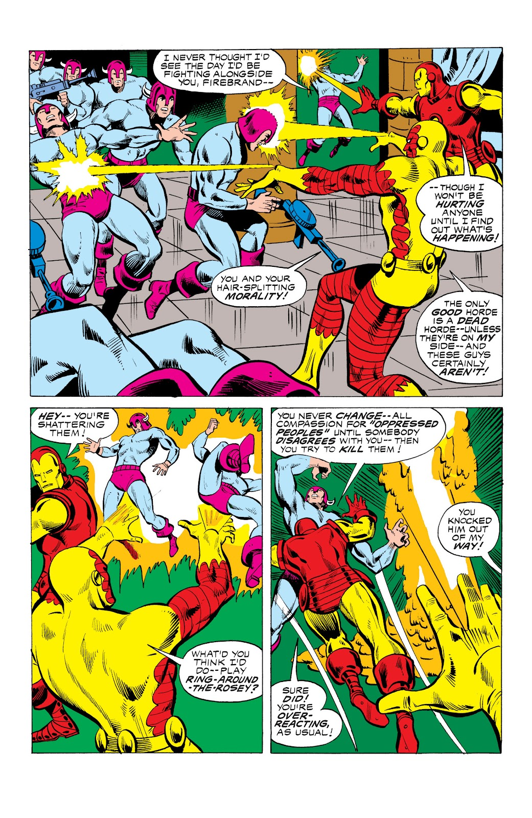 Read online Marvel Masterworks: The Invincible Iron Man comic -  Issue # TPB 10 (Part 3) - 20