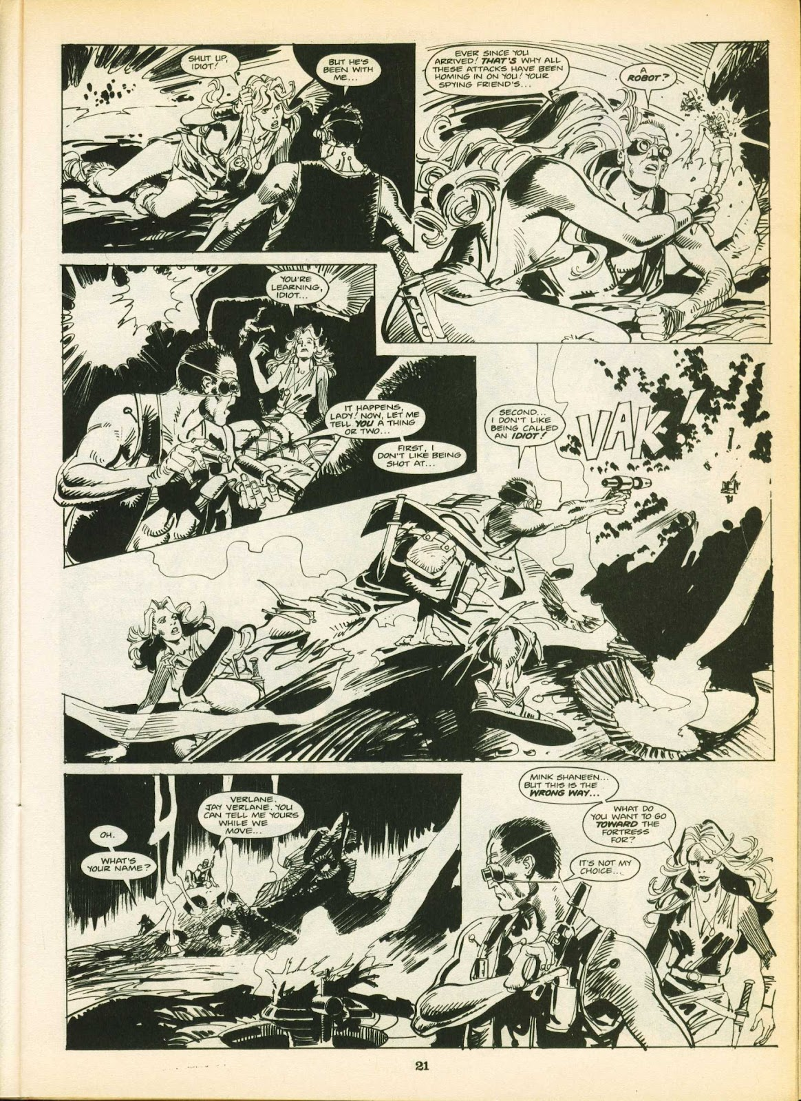 Warrior Issue #16 #17 - English 21