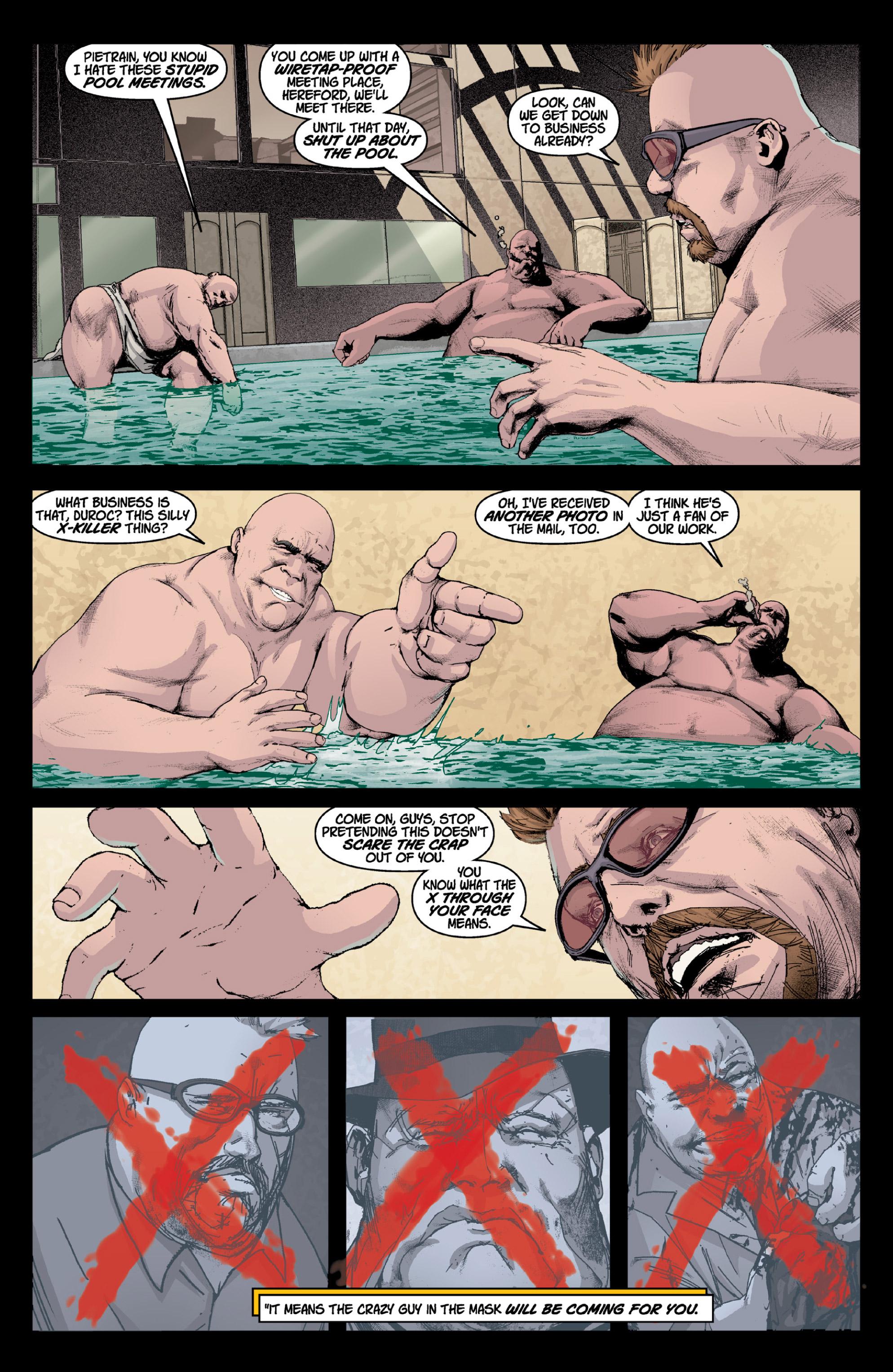 Read online X: Big Bad comic -  Issue # Full - 9