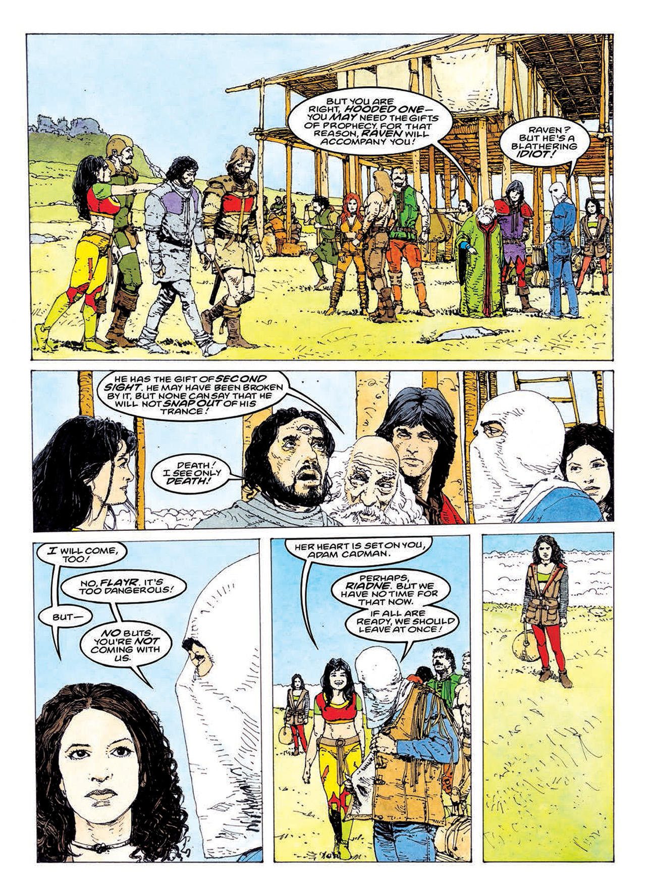 Read online Mazeworld comic -  Issue # TPB - 140