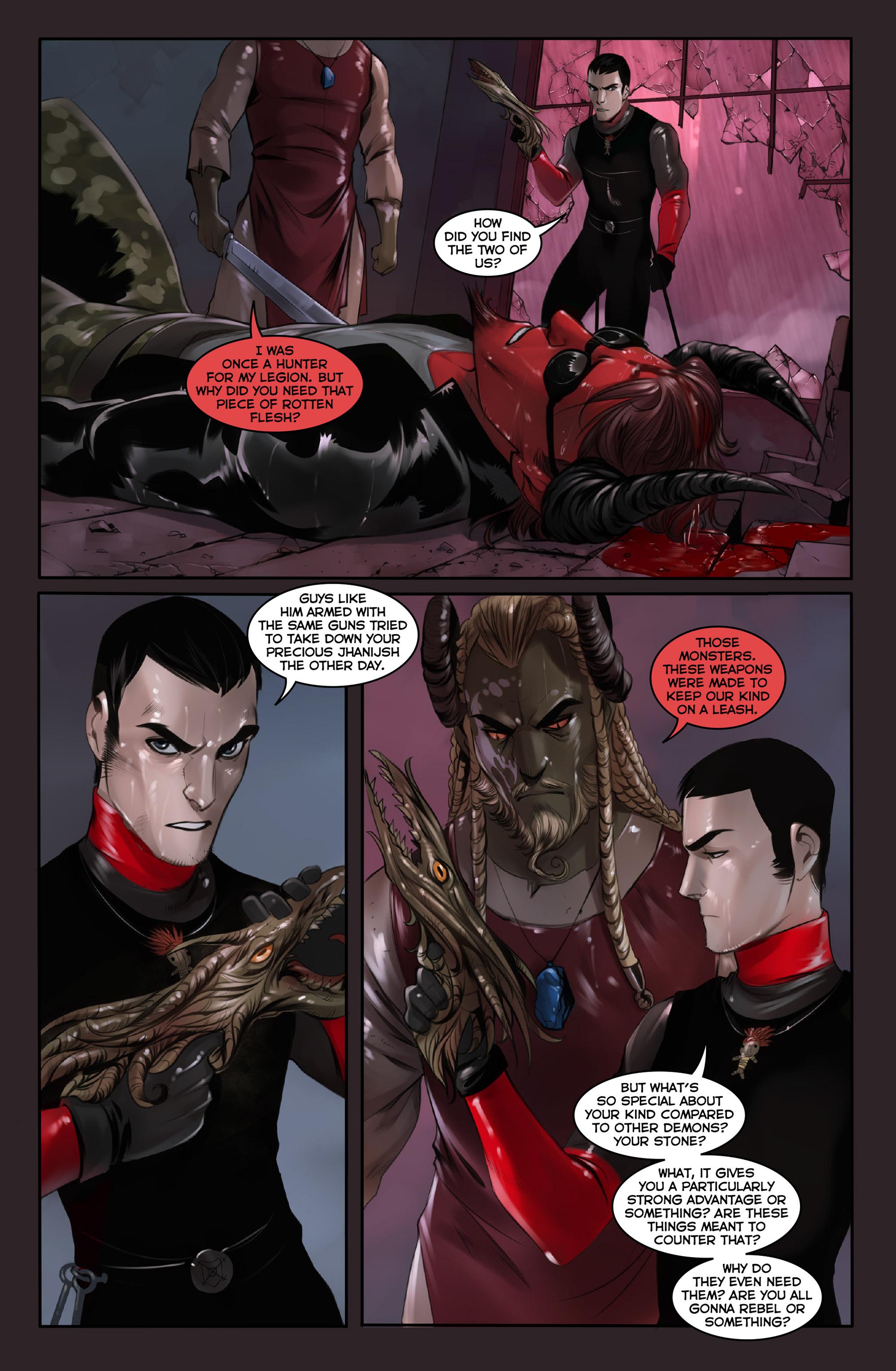 Read online Demonslayer, Vol. 2 comic -  Issue #4 - 16