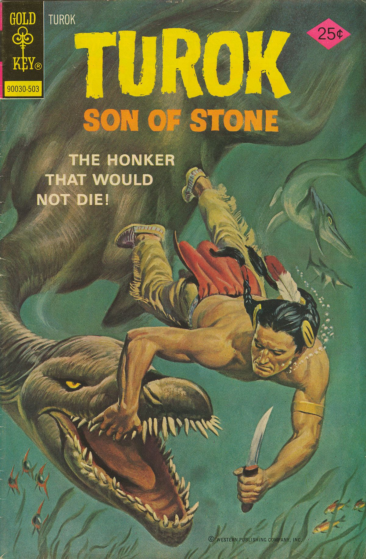 Read online Turok, Son of Stone comic -  Issue #95 - 1