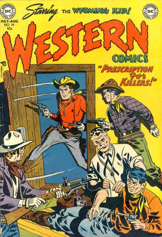 Western Comics 34 Page 1