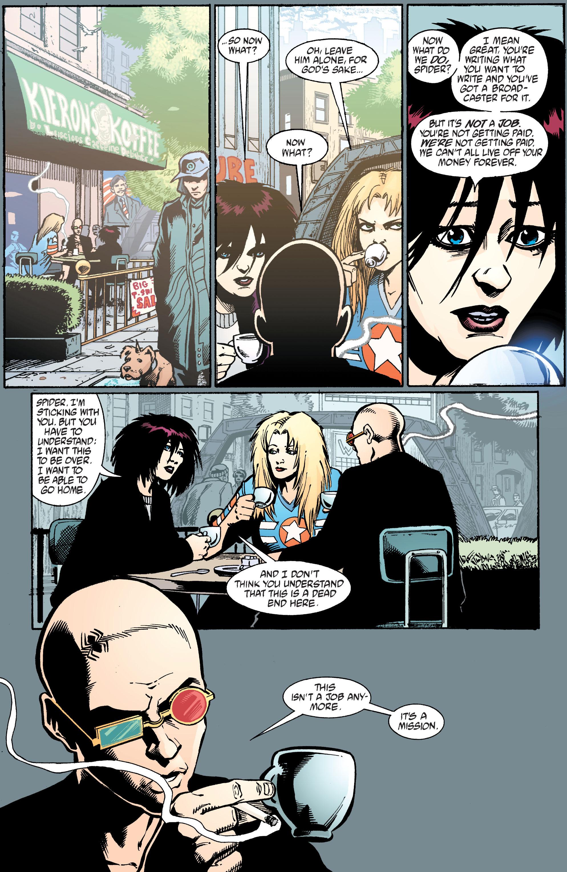 Read online Transmetropolitan comic -  Issue #39 - 22