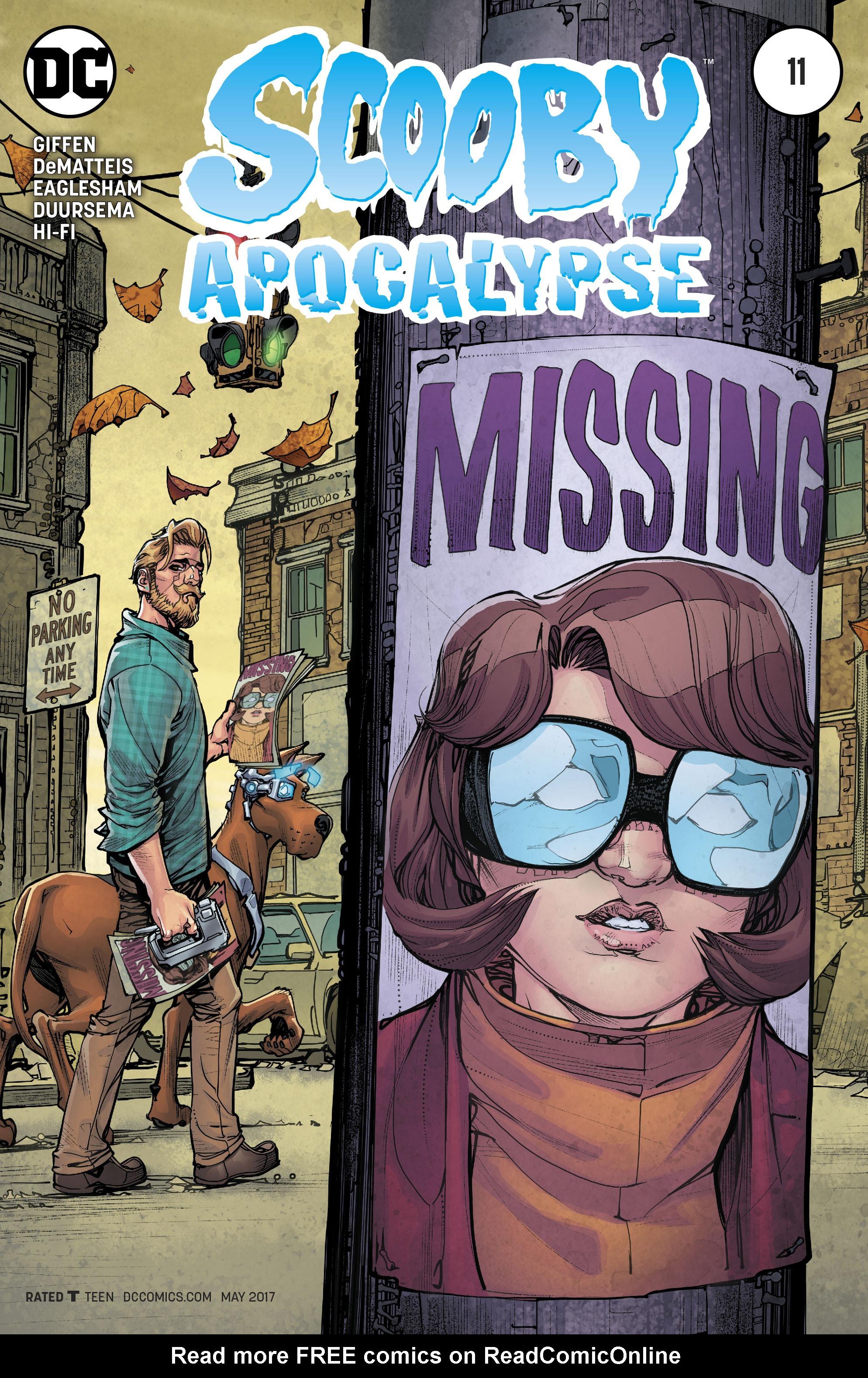 Read online Scooby Apocalypse comic -  Issue #11 - 1