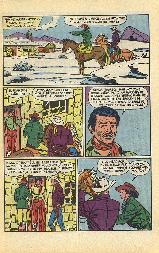Read online Roy Rogers comic -  Issue #1 - 5