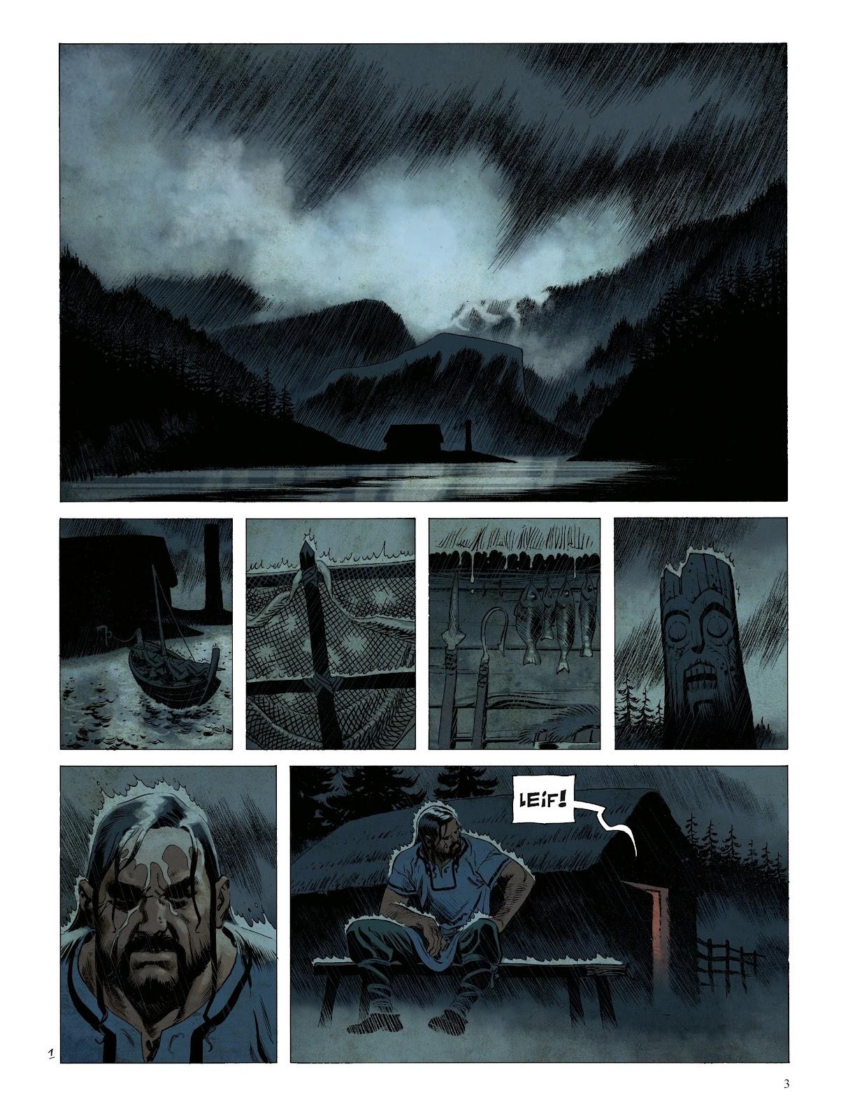 Read online Asgard comic -  Issue #1 - 5