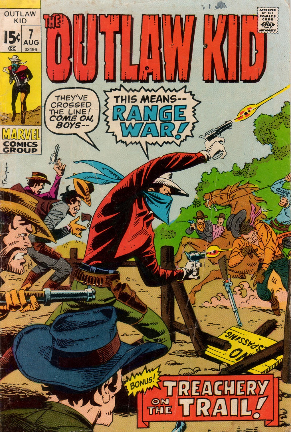 The Outlaw Kid (1970) issue 7 - Page 1