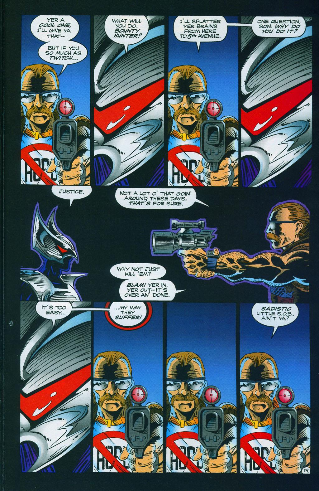 Read online ShadowHawk comic -  Issue #7 - 26