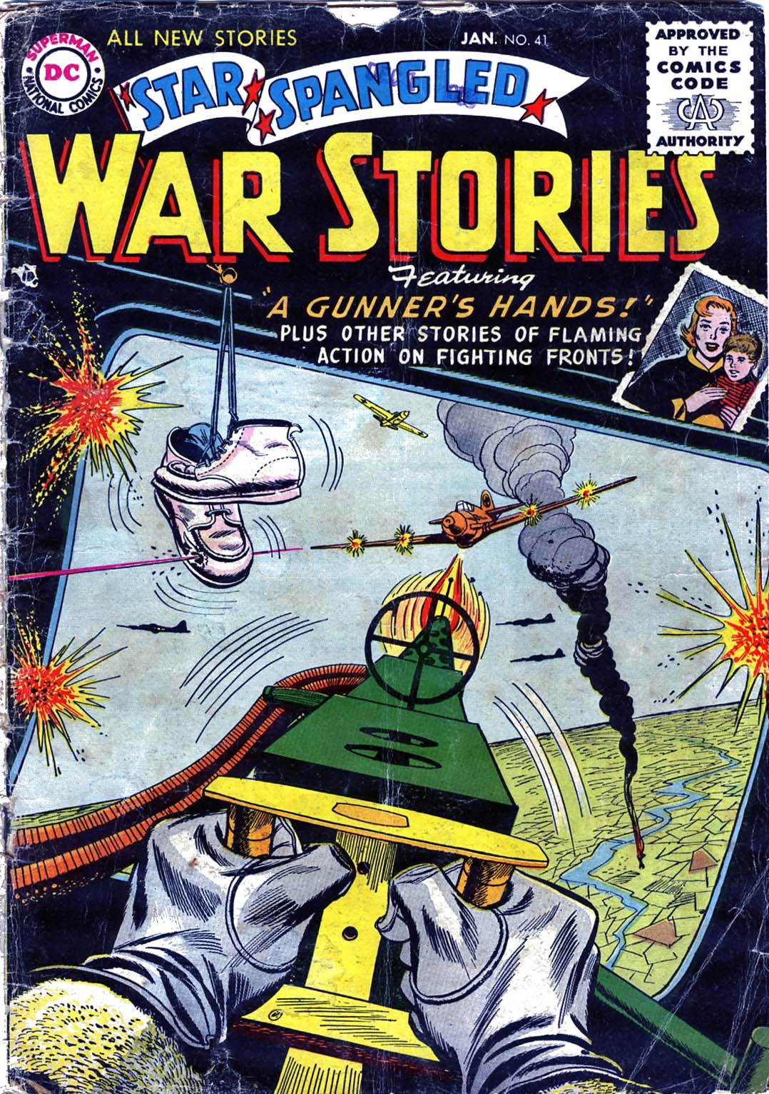 Star Spangled War Stories (1952) issue 41 - Page 1