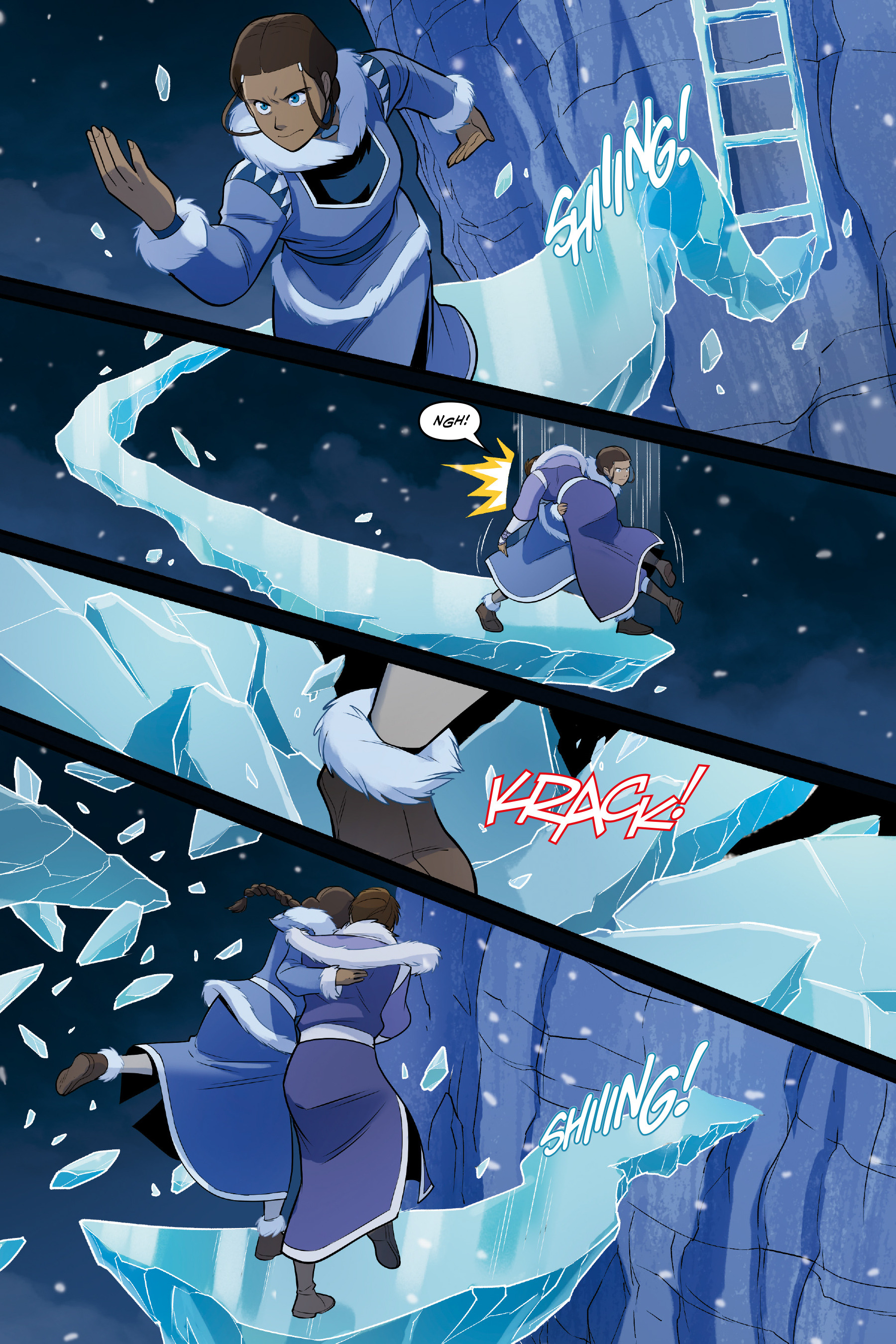 Read online Nickelodeon Avatar: The Last Airbender - North and South comic -  Issue #3 - 67