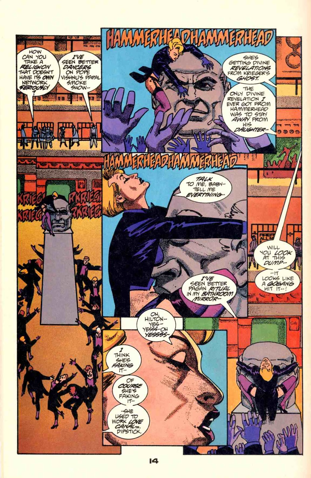 Howard Chaykin's American Flagg issue 2 - Page 16