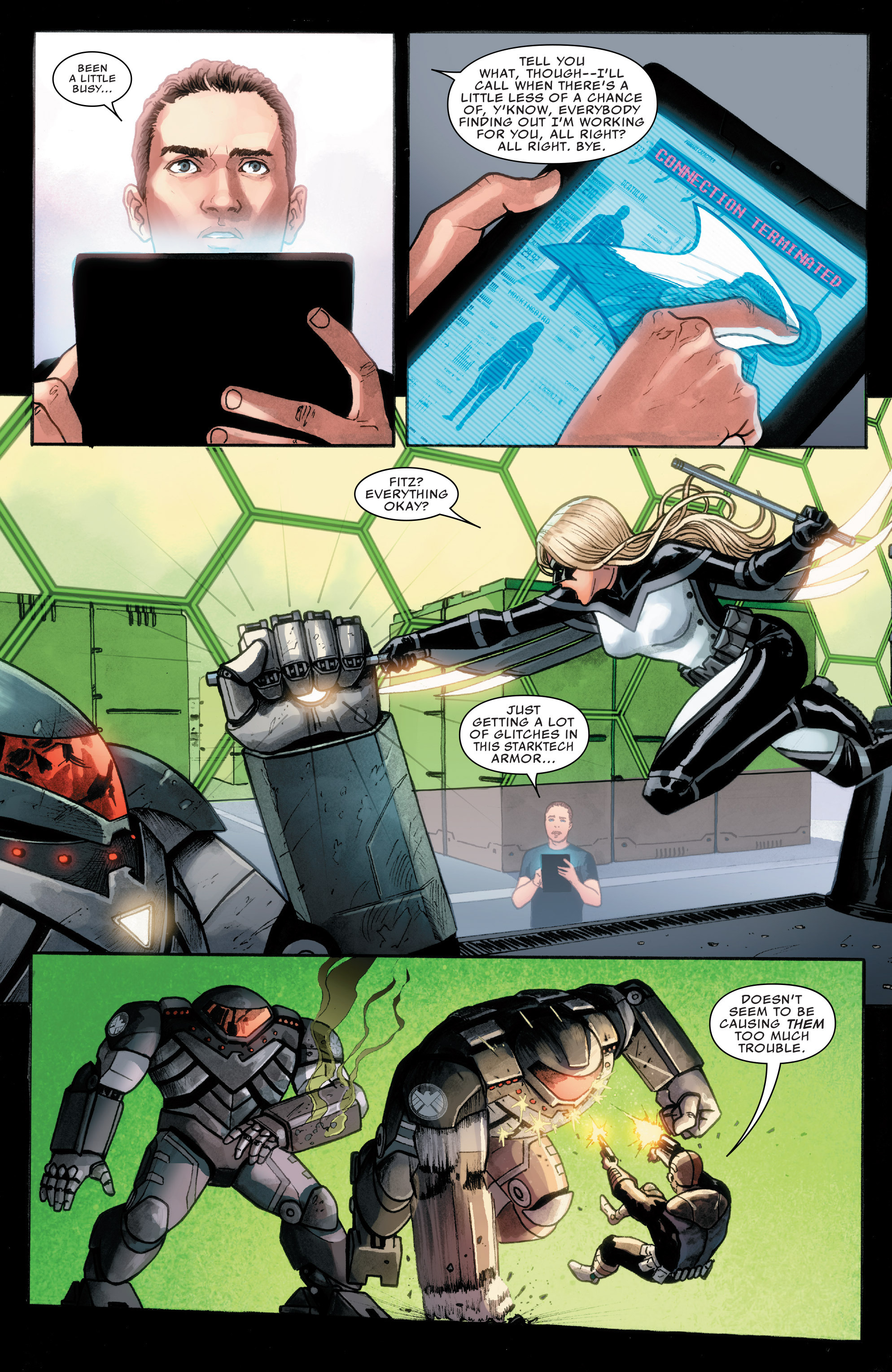 Read online Agents of S.H.I.E.L.D. comic -  Issue #8 - 17
