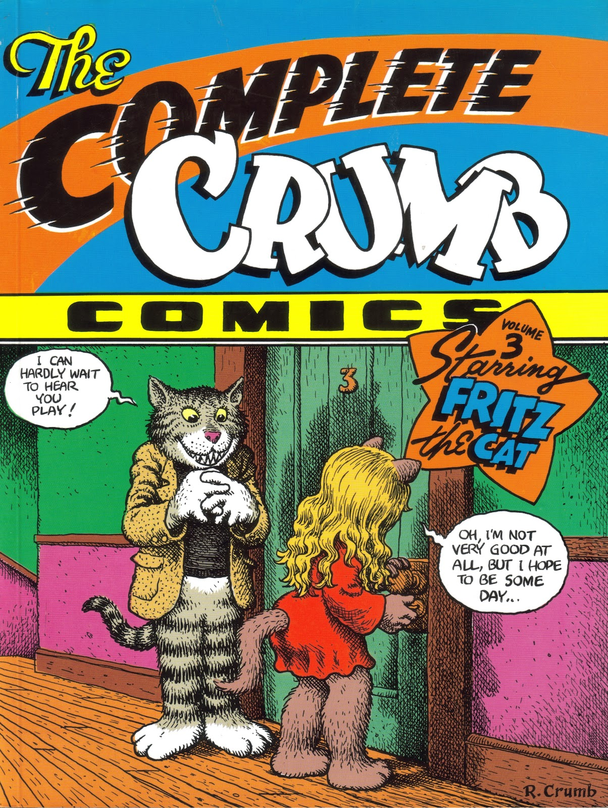 The Complete Crumb Comics TPB_3 Page 1