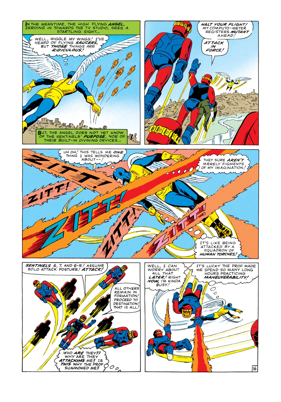Read online Uncanny X-Men (1963) comic -  Issue #14 - 17