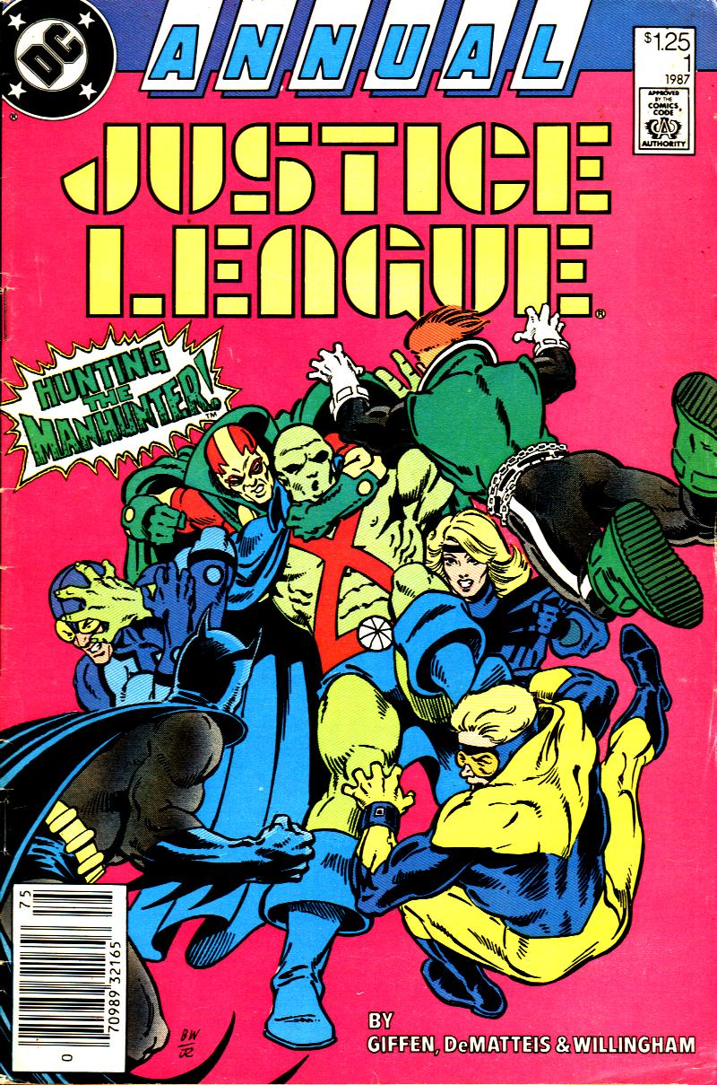 Justice League (1987) _Annual Page 1
