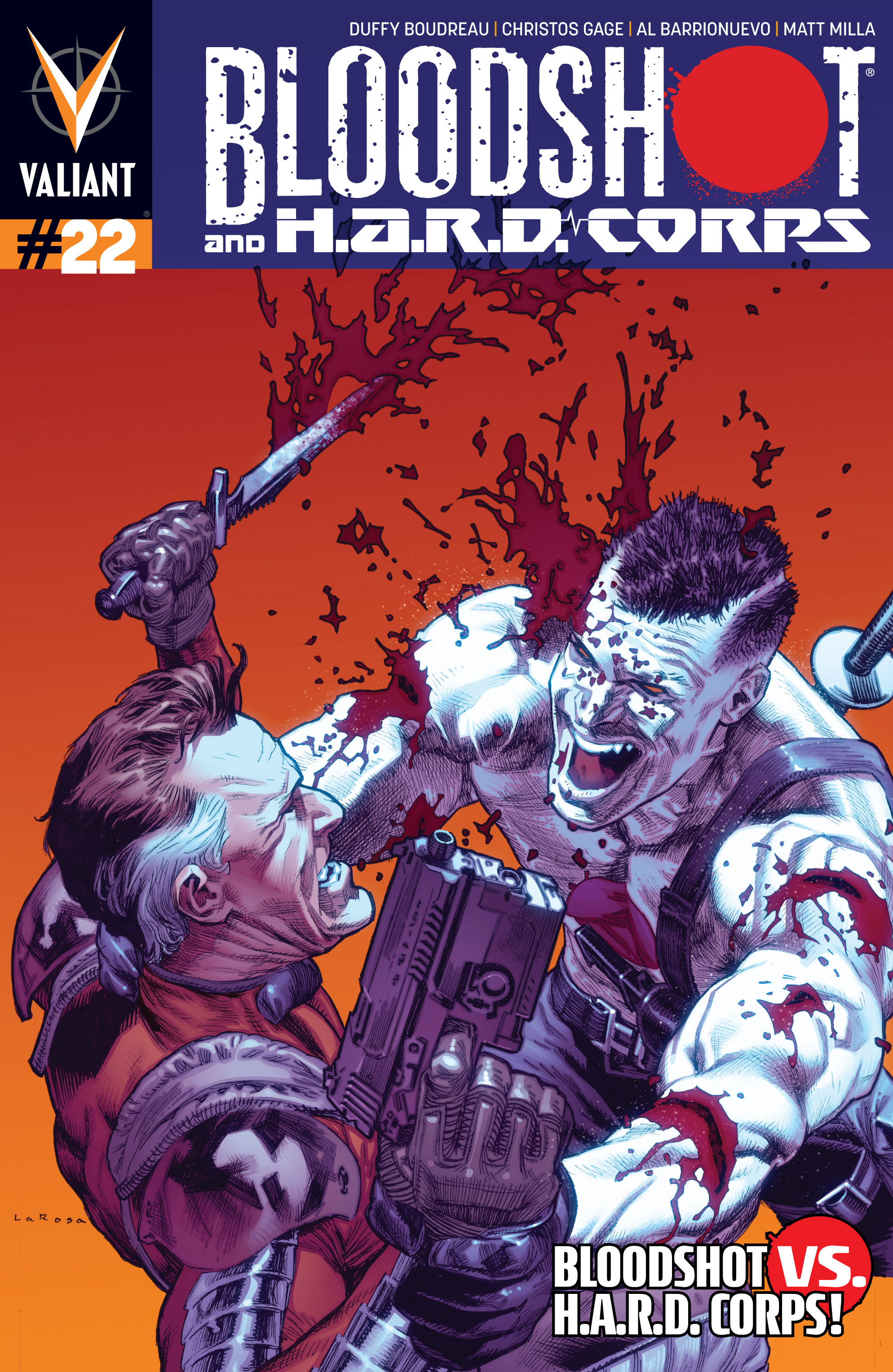 Read online Bloodshot and H.A.R.D.Corps comic -  Issue #22 - 1