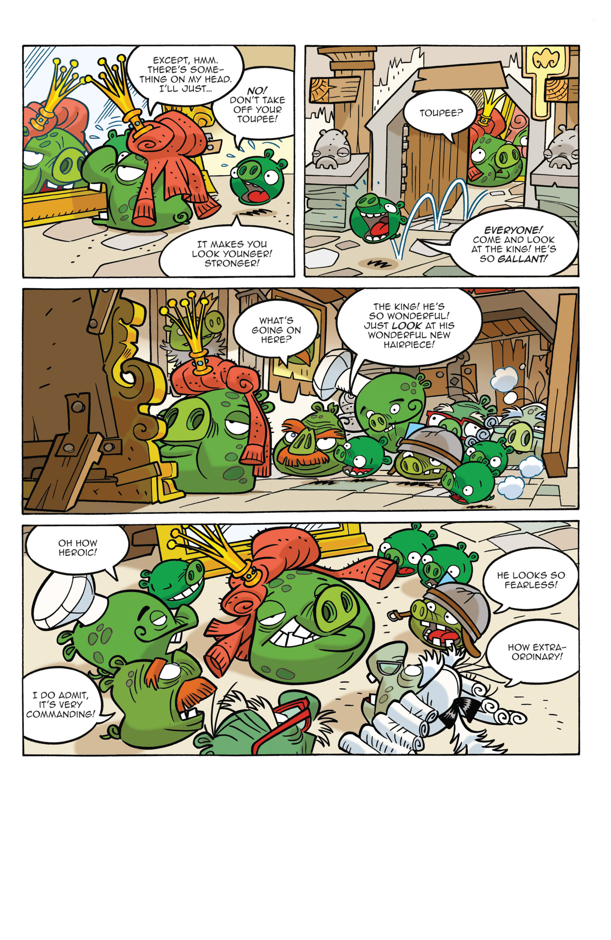 Read online Angry Birds Comics (2014) comic -  Issue #3 - 7
