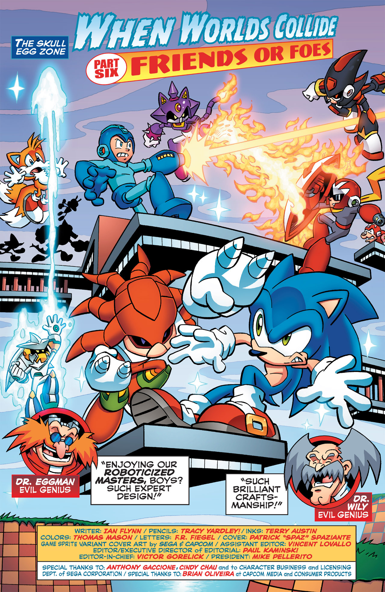 Read online Sonic Mega Man Worlds Collide comic -  Issue # Vol 2 - 35