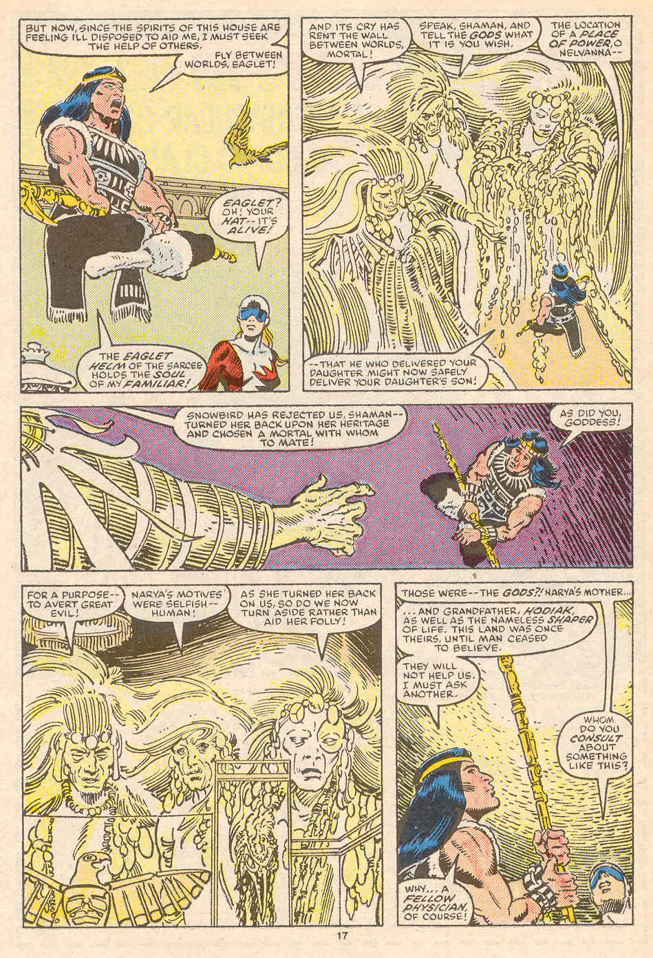 Read online Alpha Flight (1983) comic -  Issue #36 - 18