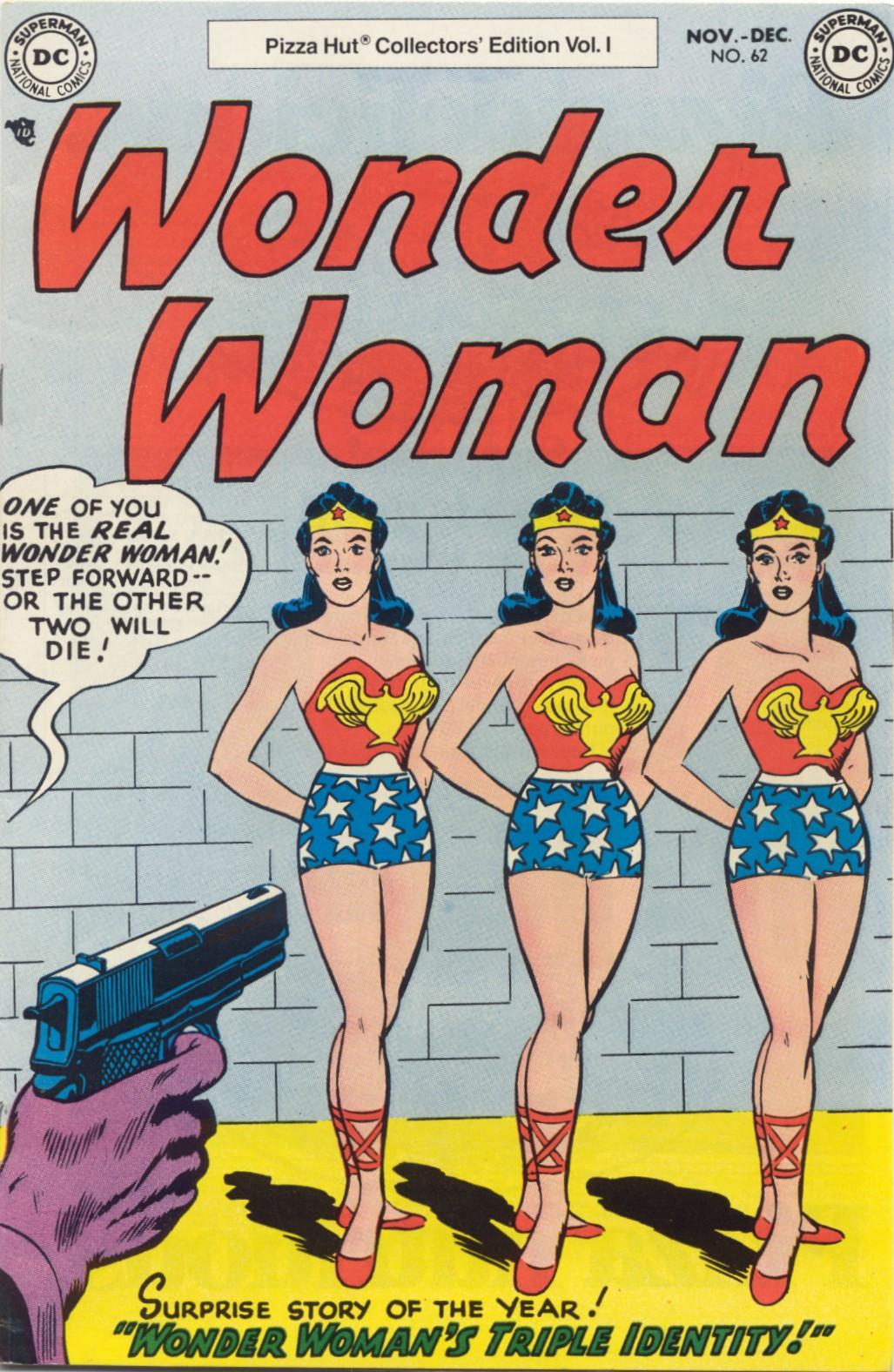 Read online Wonder Woman (1942) comic -  Issue #62 - 1