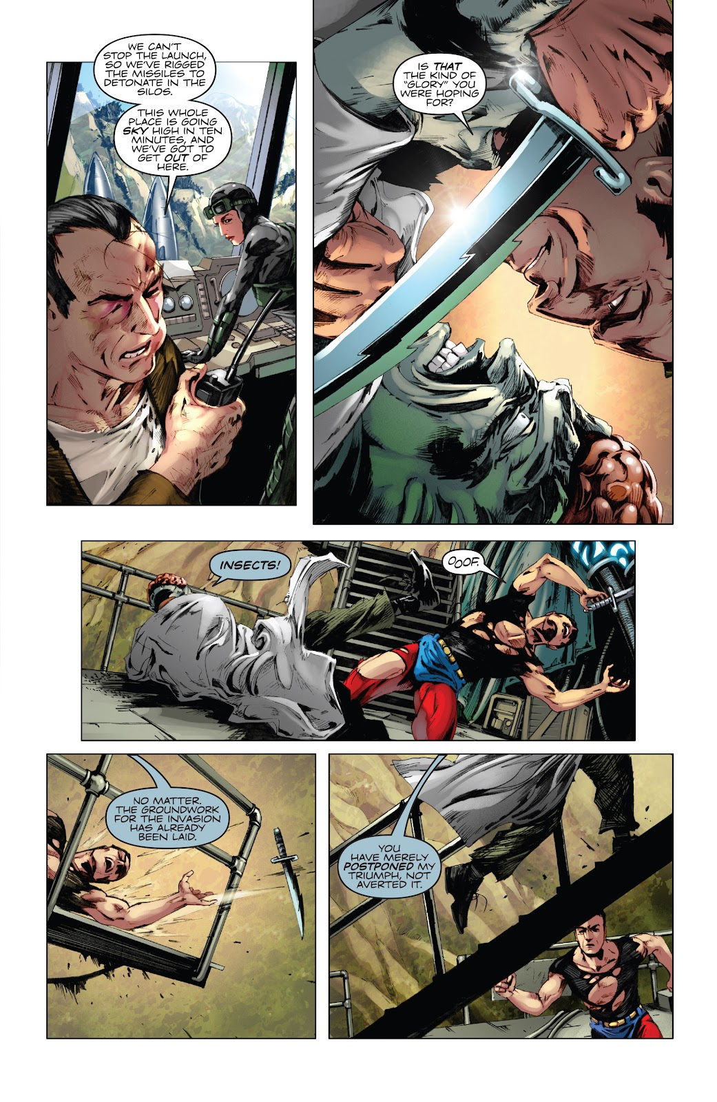 Read online Codename: Action comic -  Issue #5 - 19