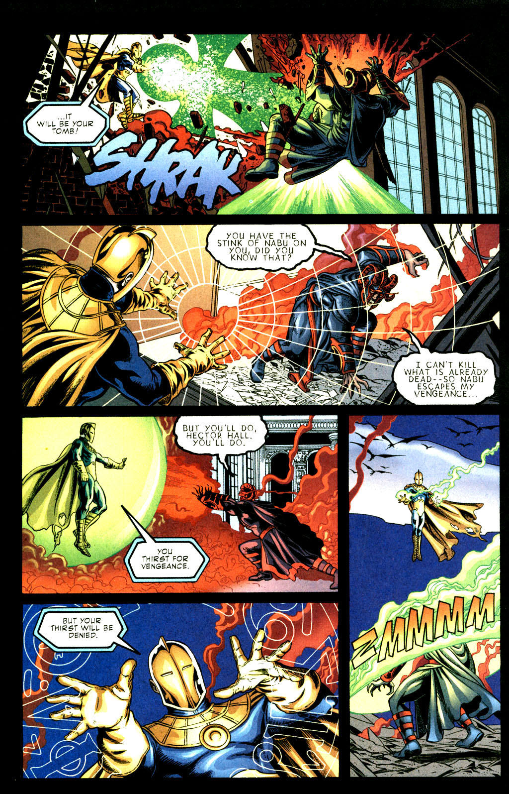 Read online Doctor Fate (2003) comic -  Issue #3 - 18
