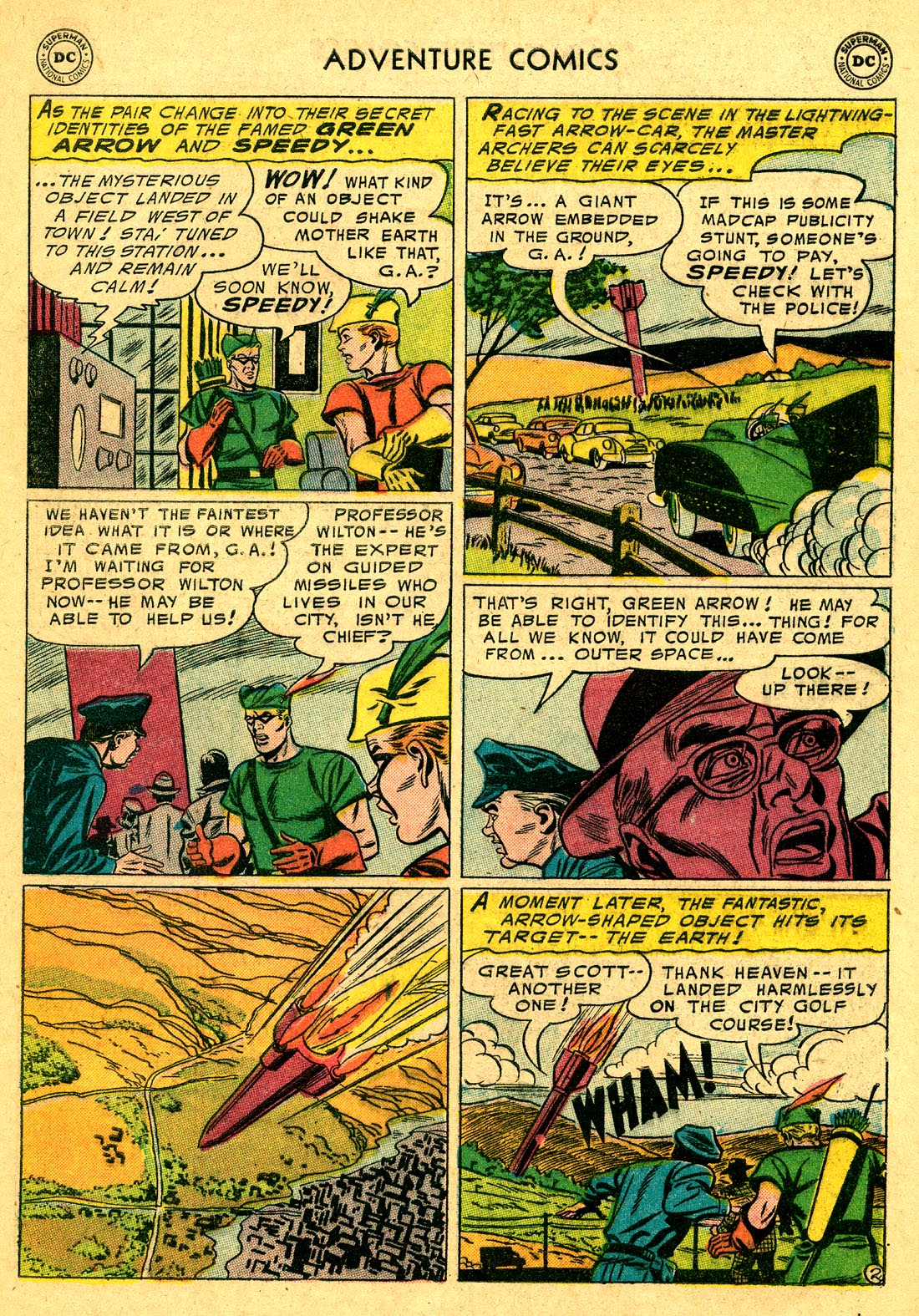 Read online Adventure Comics (1938) comic -  Issue #220 - 29