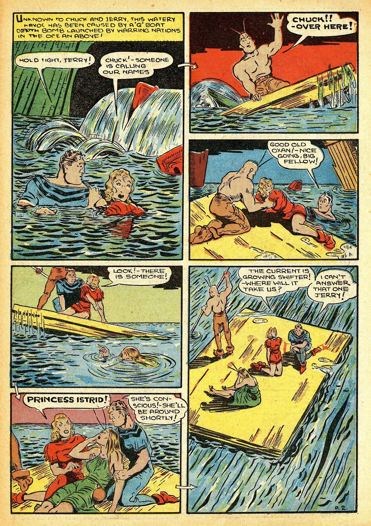 Read online Amazing Man Comics comic -  Issue #10 - 46
