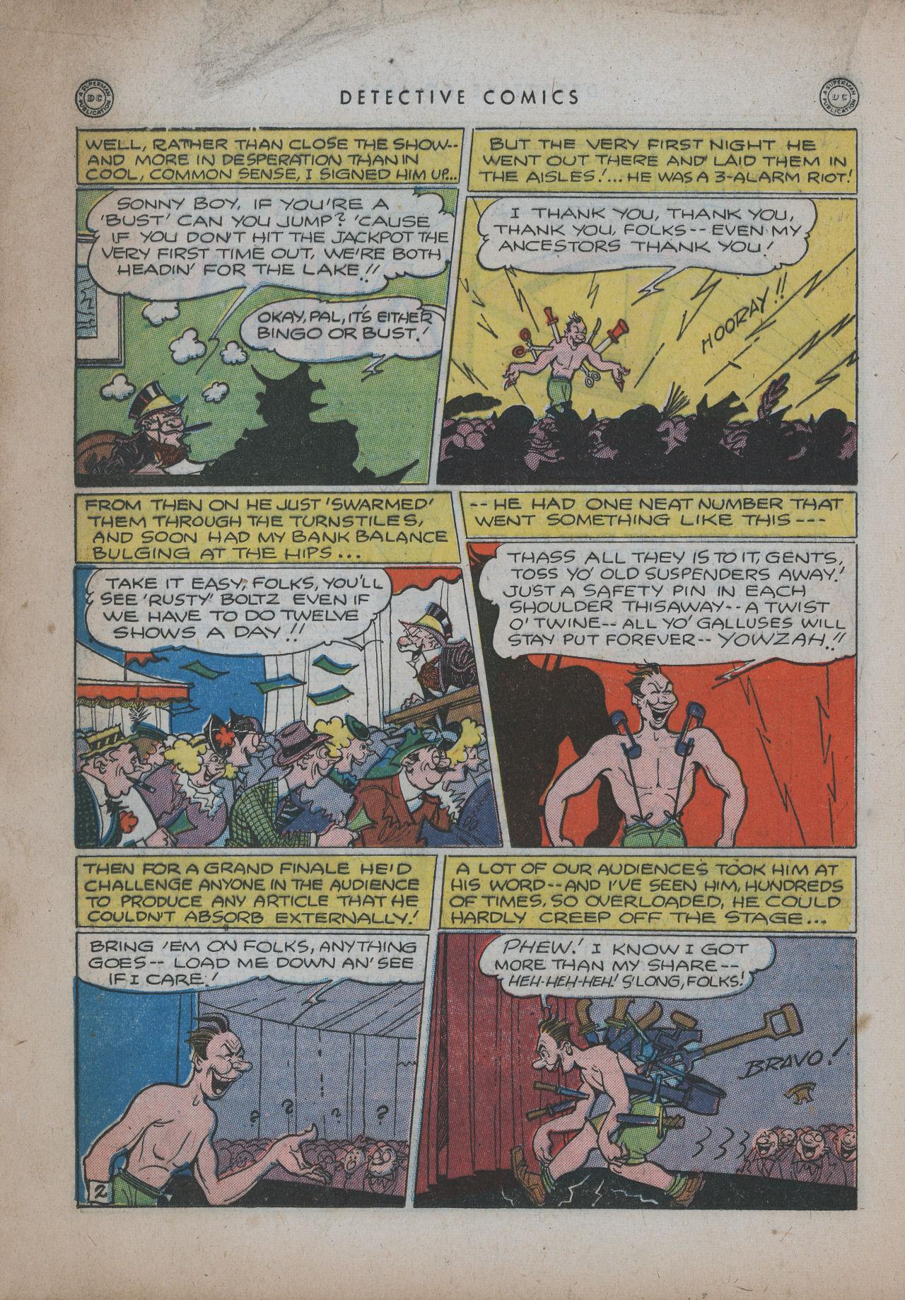Read online Detective Comics (1937) comic -  Issue #94 - 18