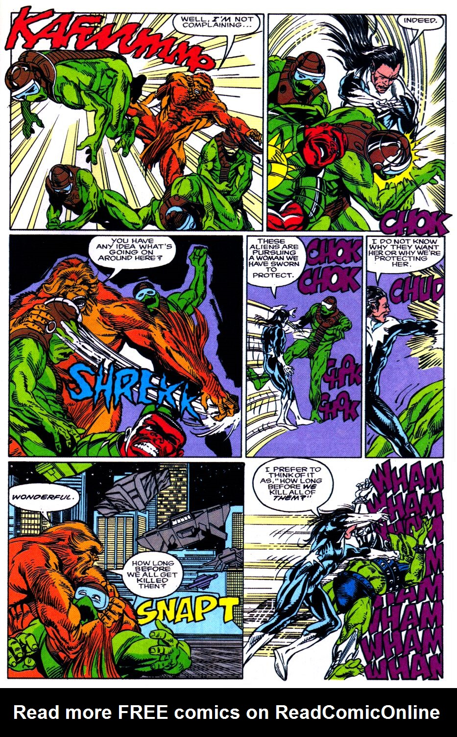 Read online Alpha Flight Special comic -  Issue #2 - 16