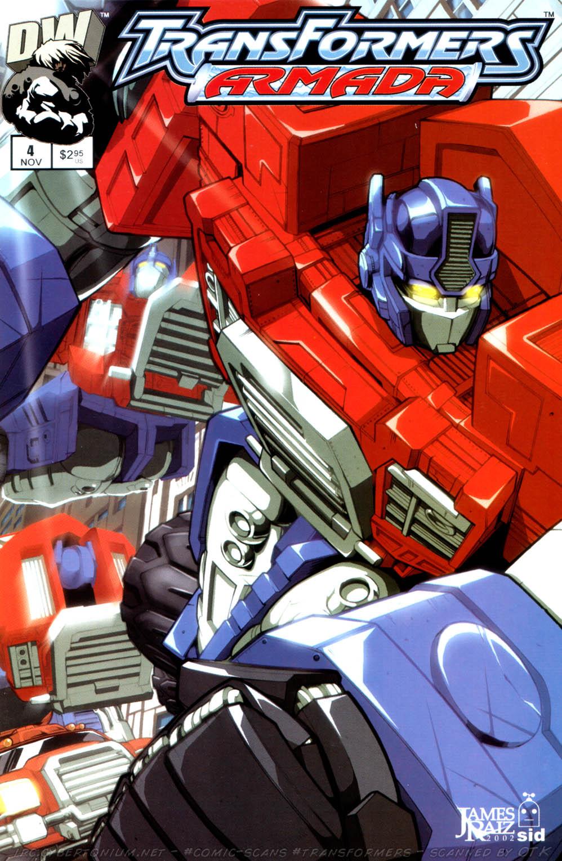Read online Transformers Armada comic -  Issue #4 - 1