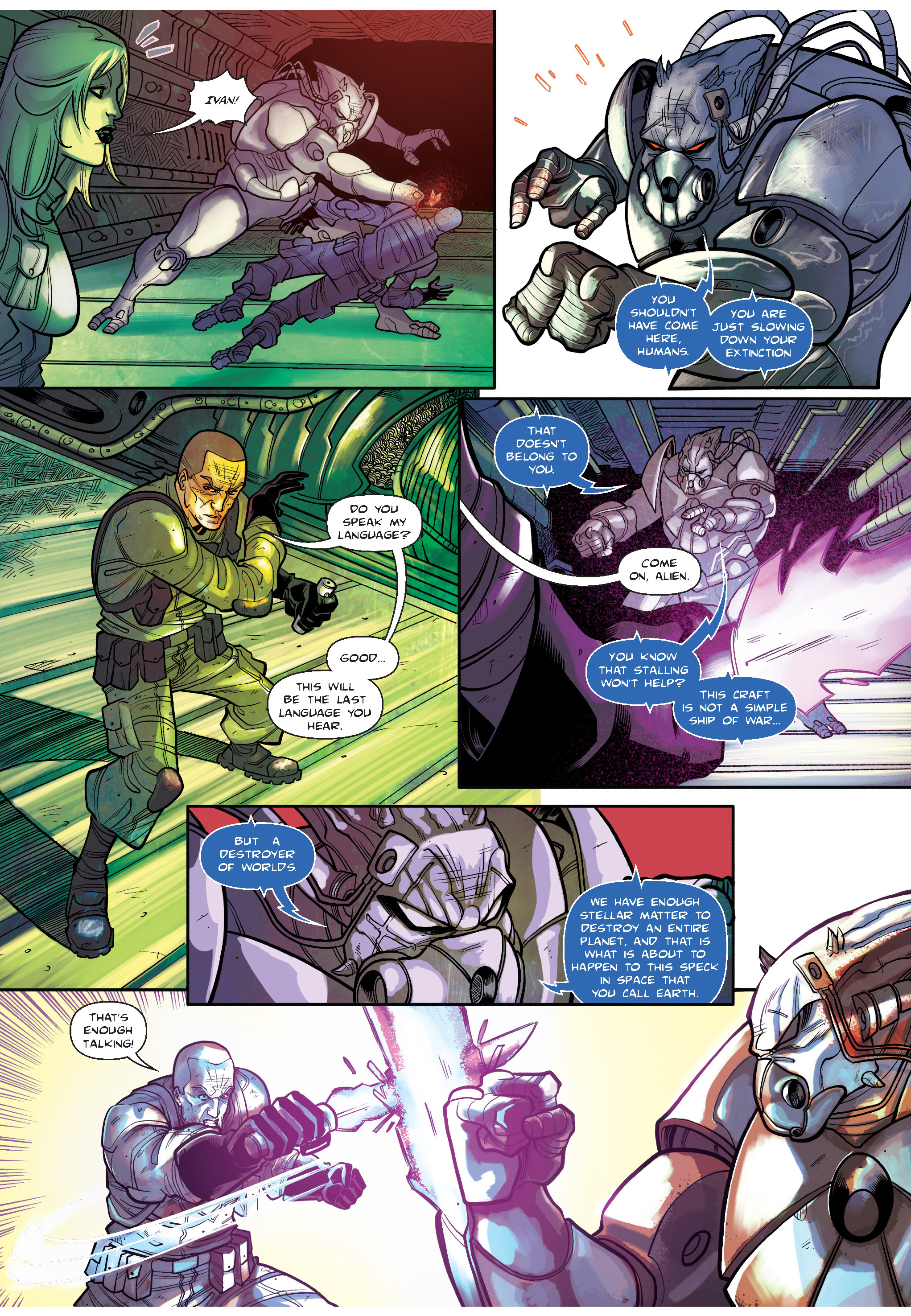 Read online The Shadow of a Terrible Thing comic -  Issue # TPB - 124