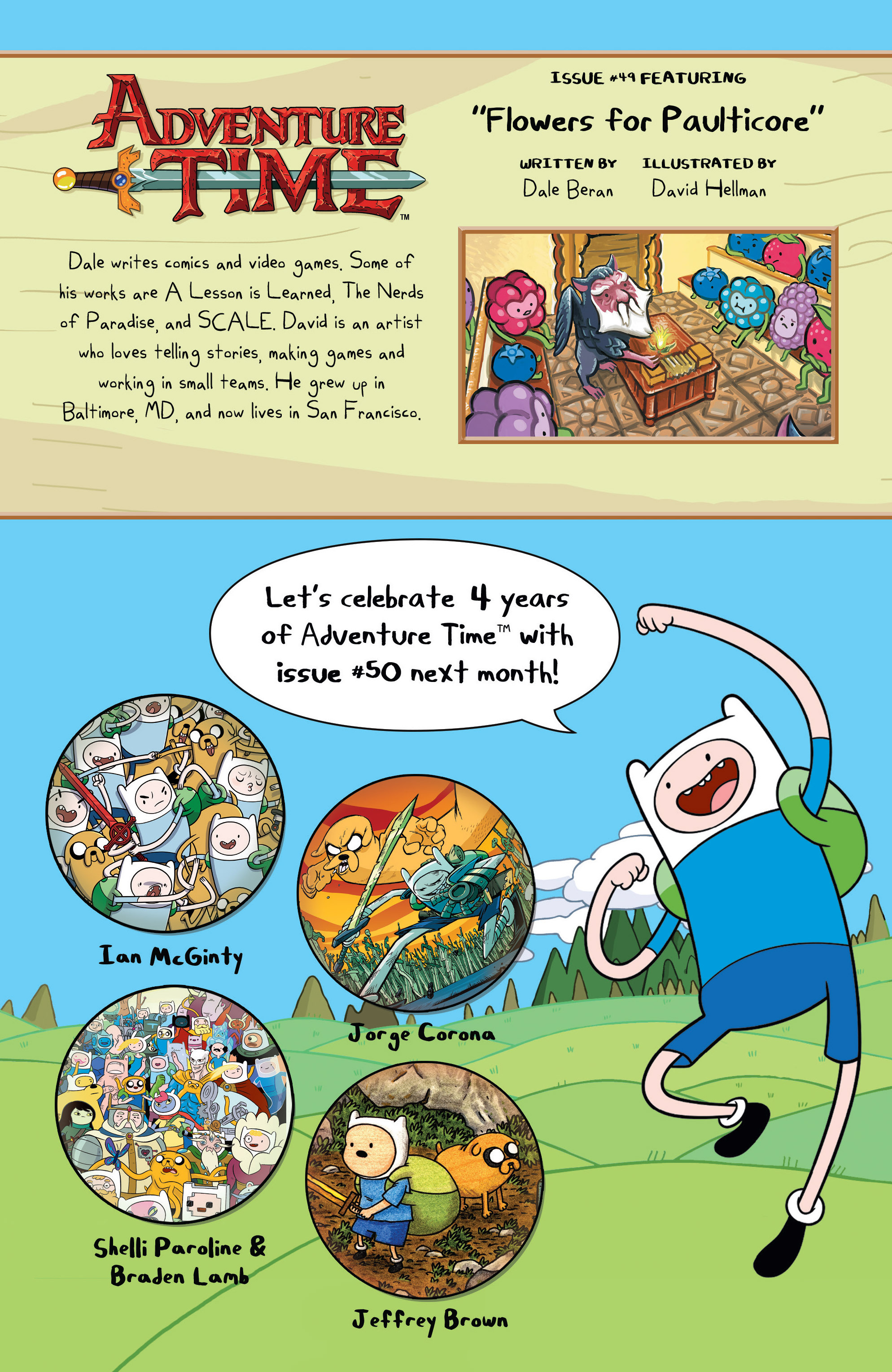 Read online Adventure Time comic -  Issue #49 - 25