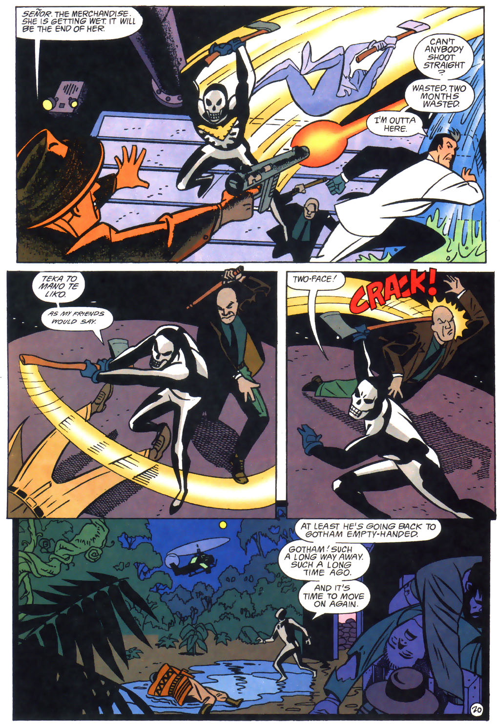 read online the batman adventures the lost years comic issue 3