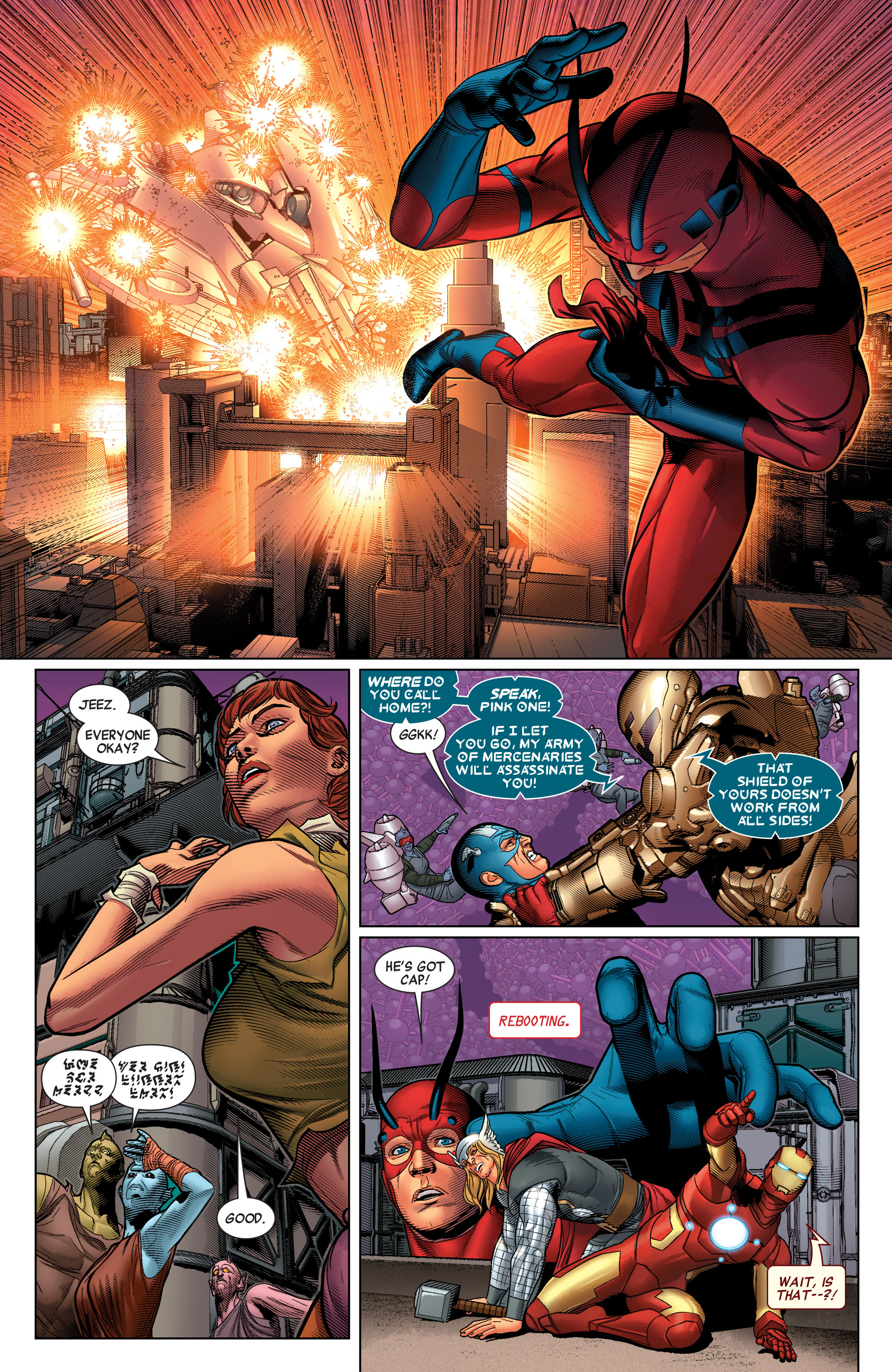 Read online Avengers (2010) comic -  Issue #34 - 12