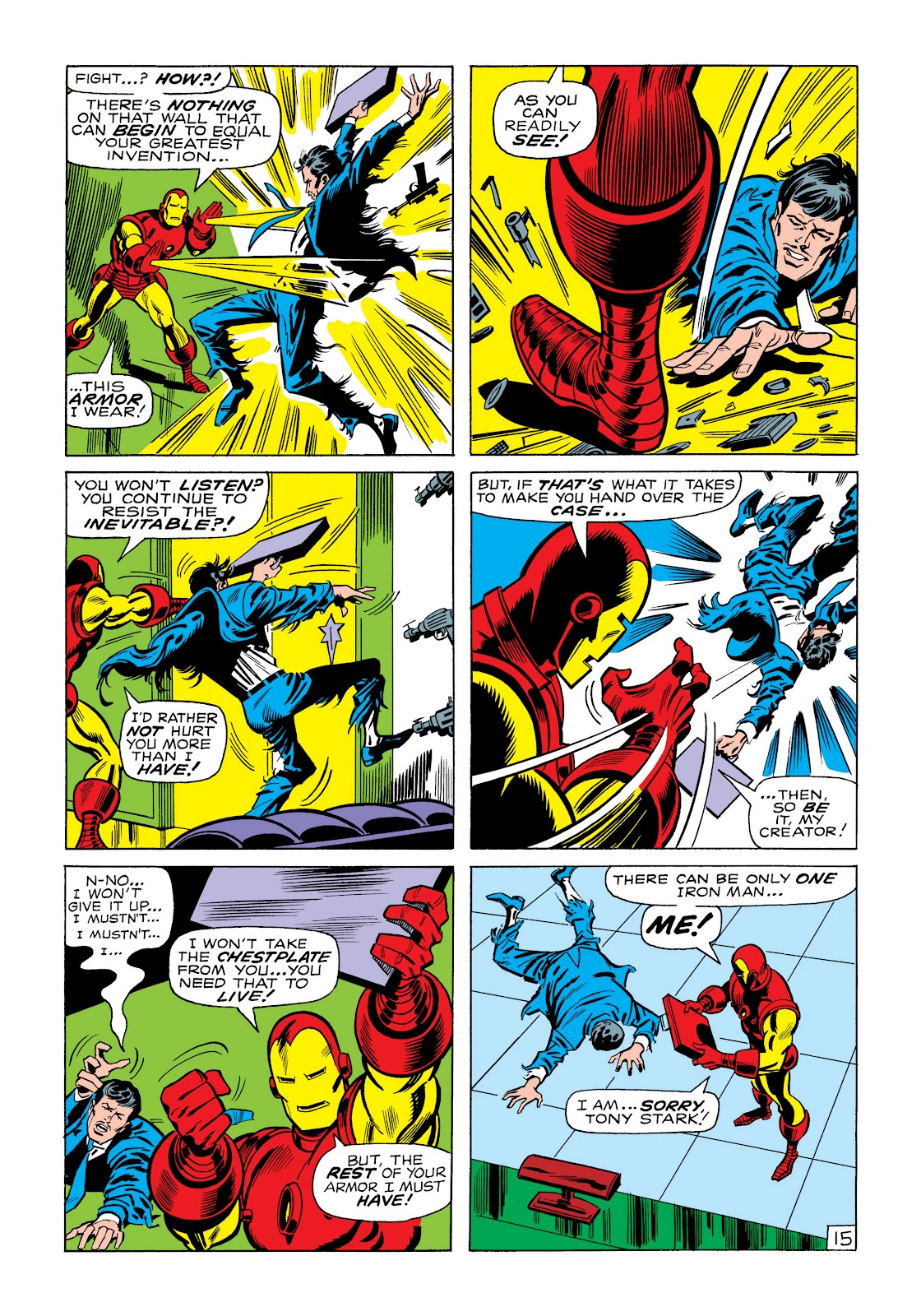 Read online Marvel Masterworks: The Invincible Iron Man comic -  Issue # TPB 6 (Part 1) - 84