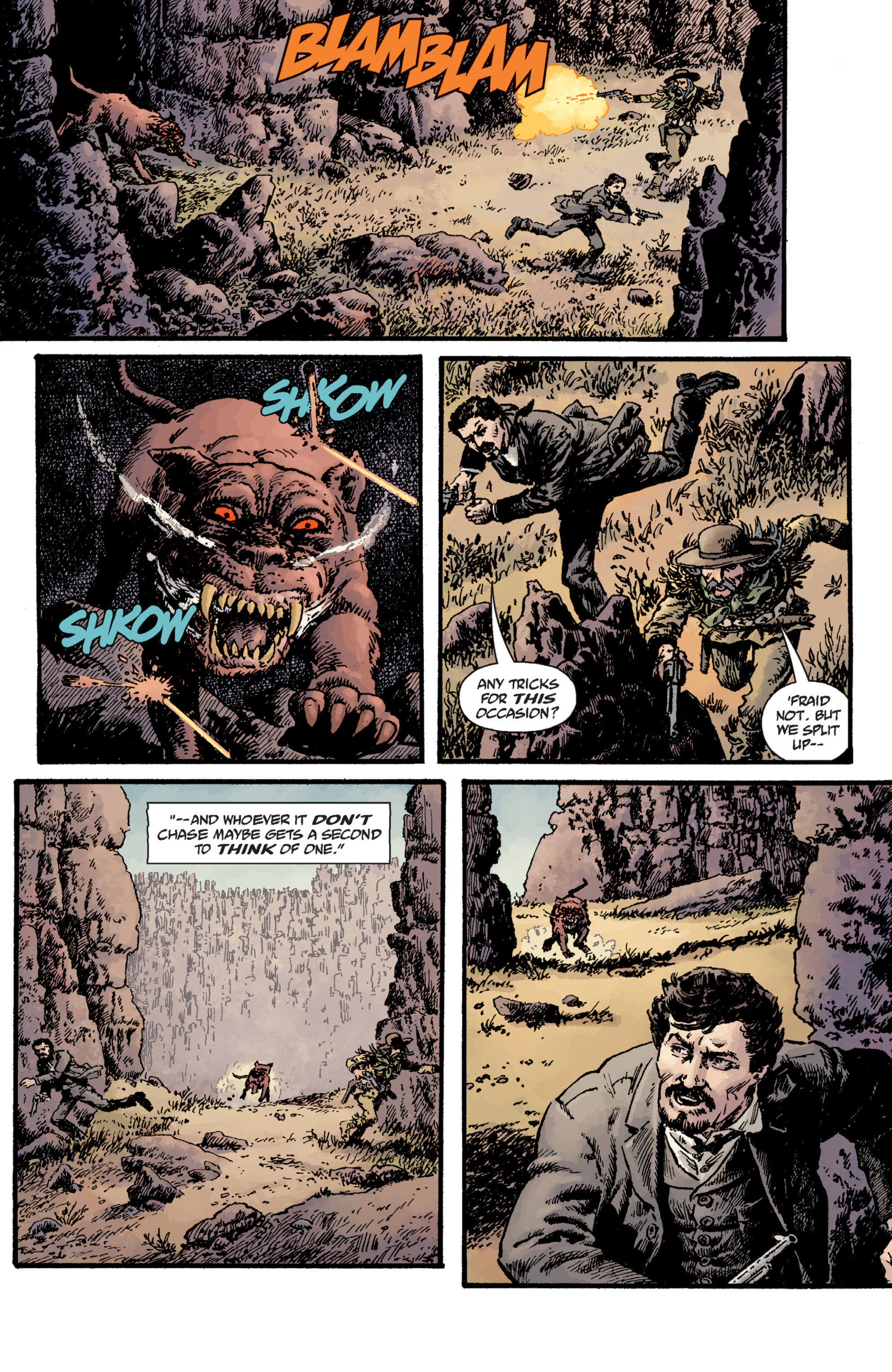 Read online Sir Edward Grey, Witchfinder: Lost and Gone Forever comic -  Issue # TPB - 65