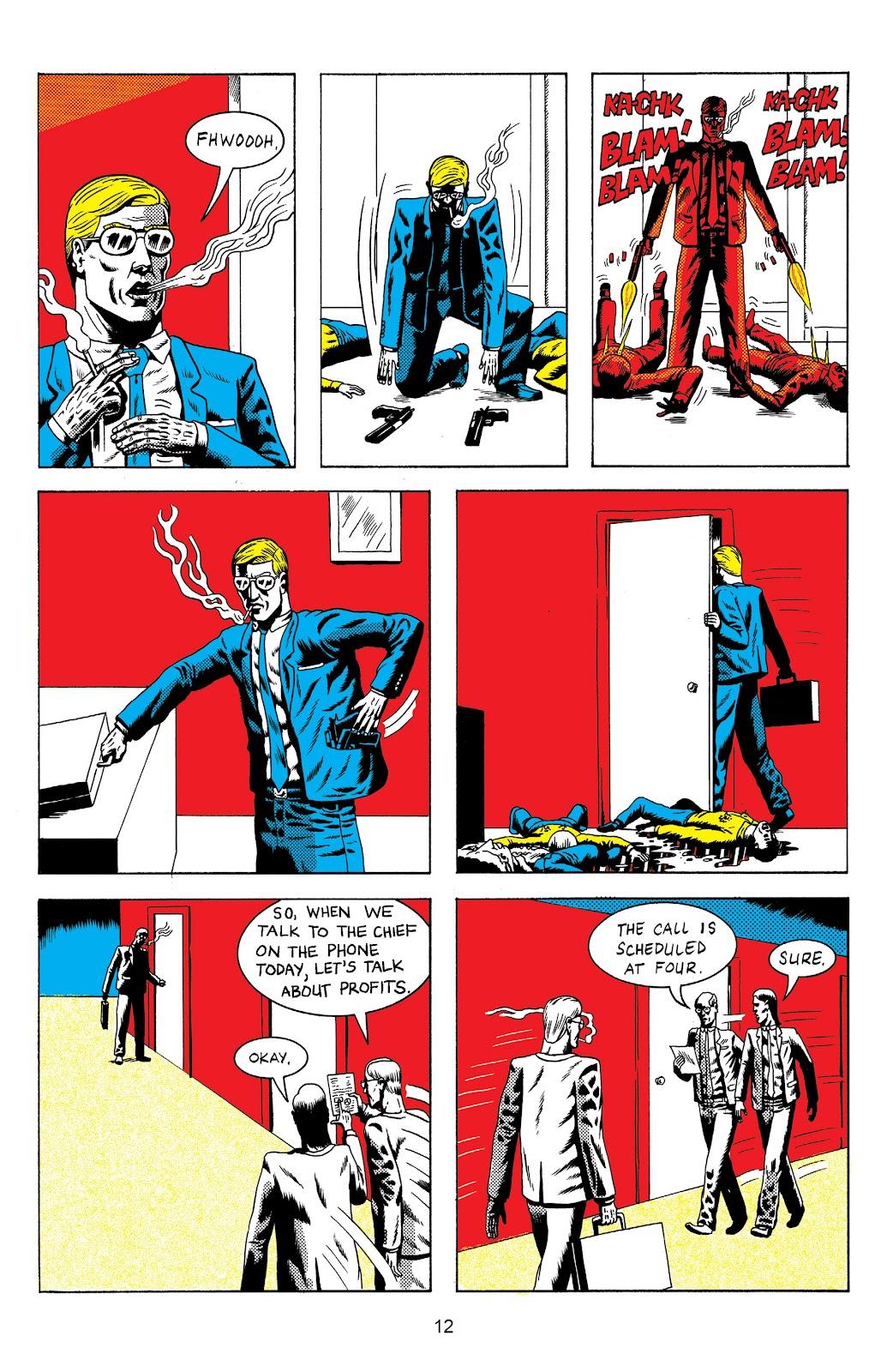 Read online Terror Assaulter: O.M.W.O.T (One Man War On Terror) comic -  Issue # TPB - 13